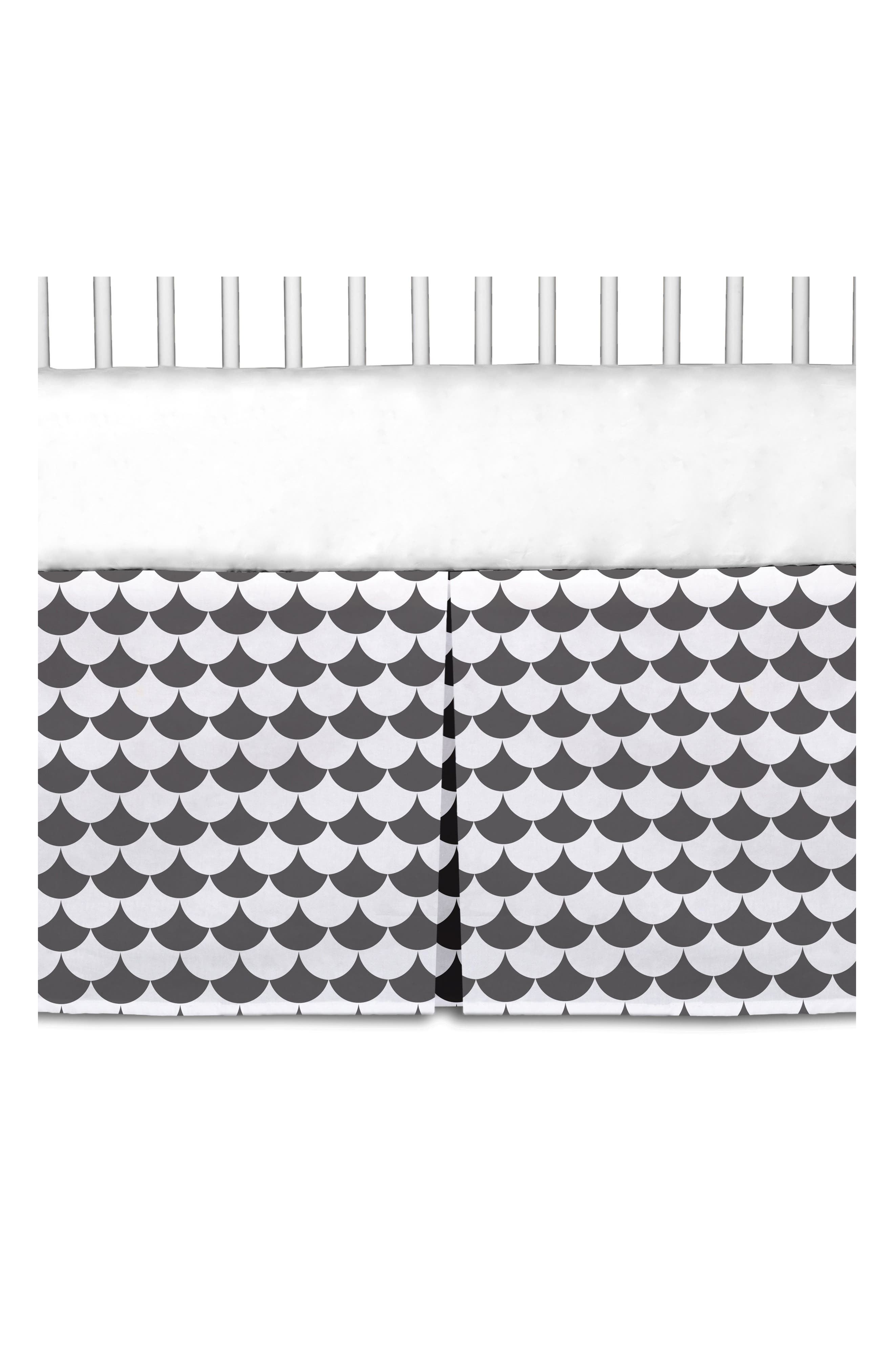 Alternate Image 2  - Living Textiles Crib Bed Skirt
