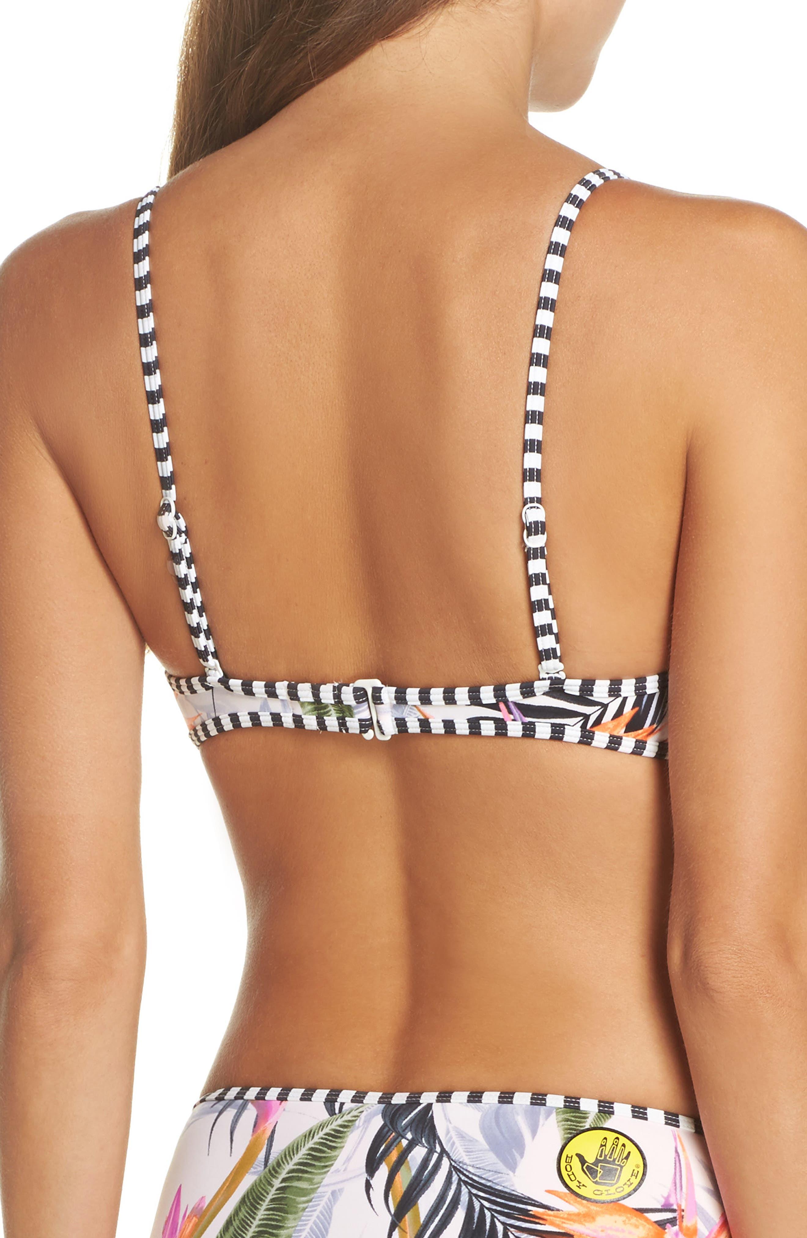 Alternate Image 2  - Body Glove Litz Greta Underwire Bikini Top