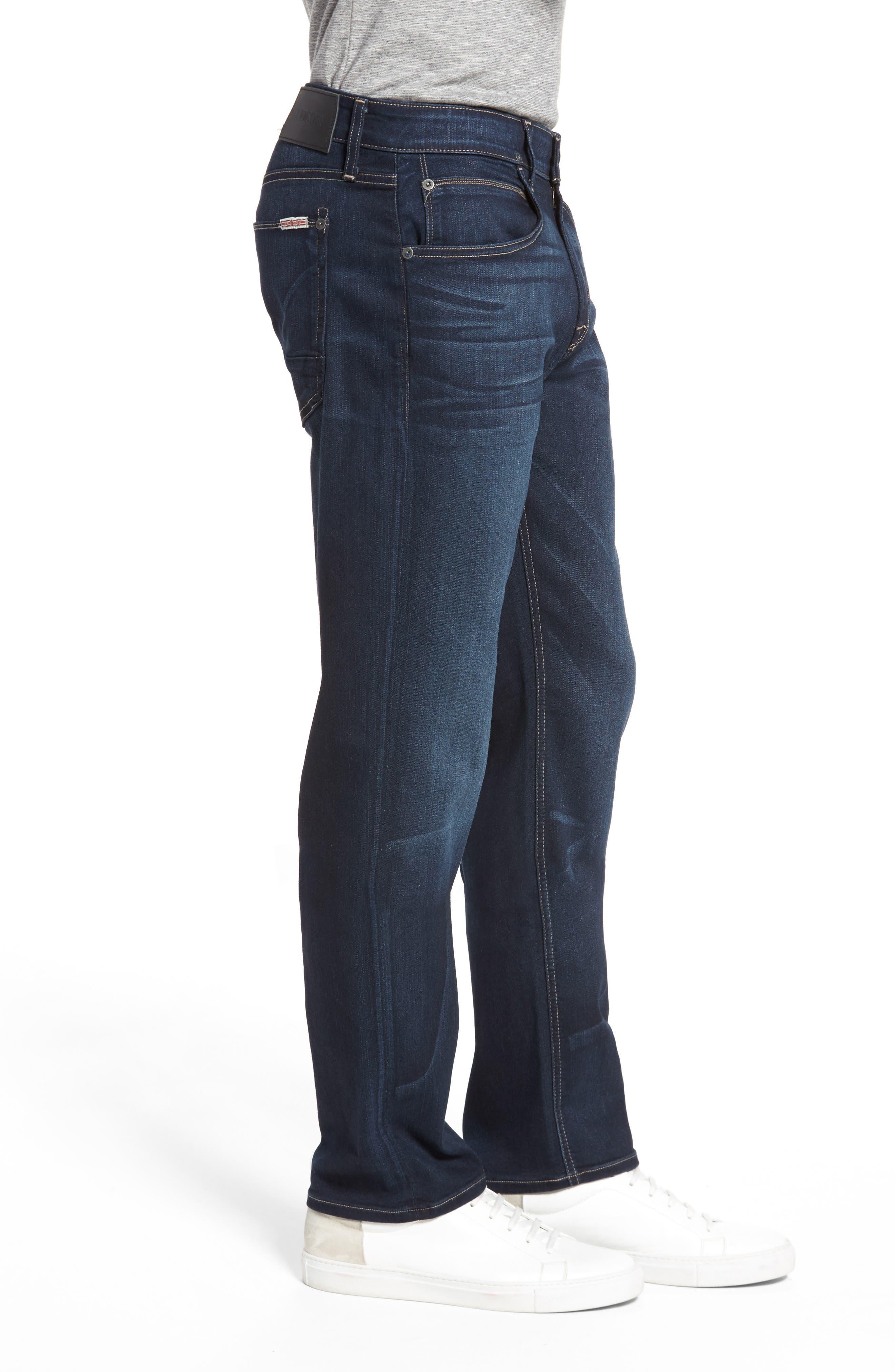Alternate Image 3  - Hudson Jeans Byron Slim Straight Fit Jeans (Newburyport)
