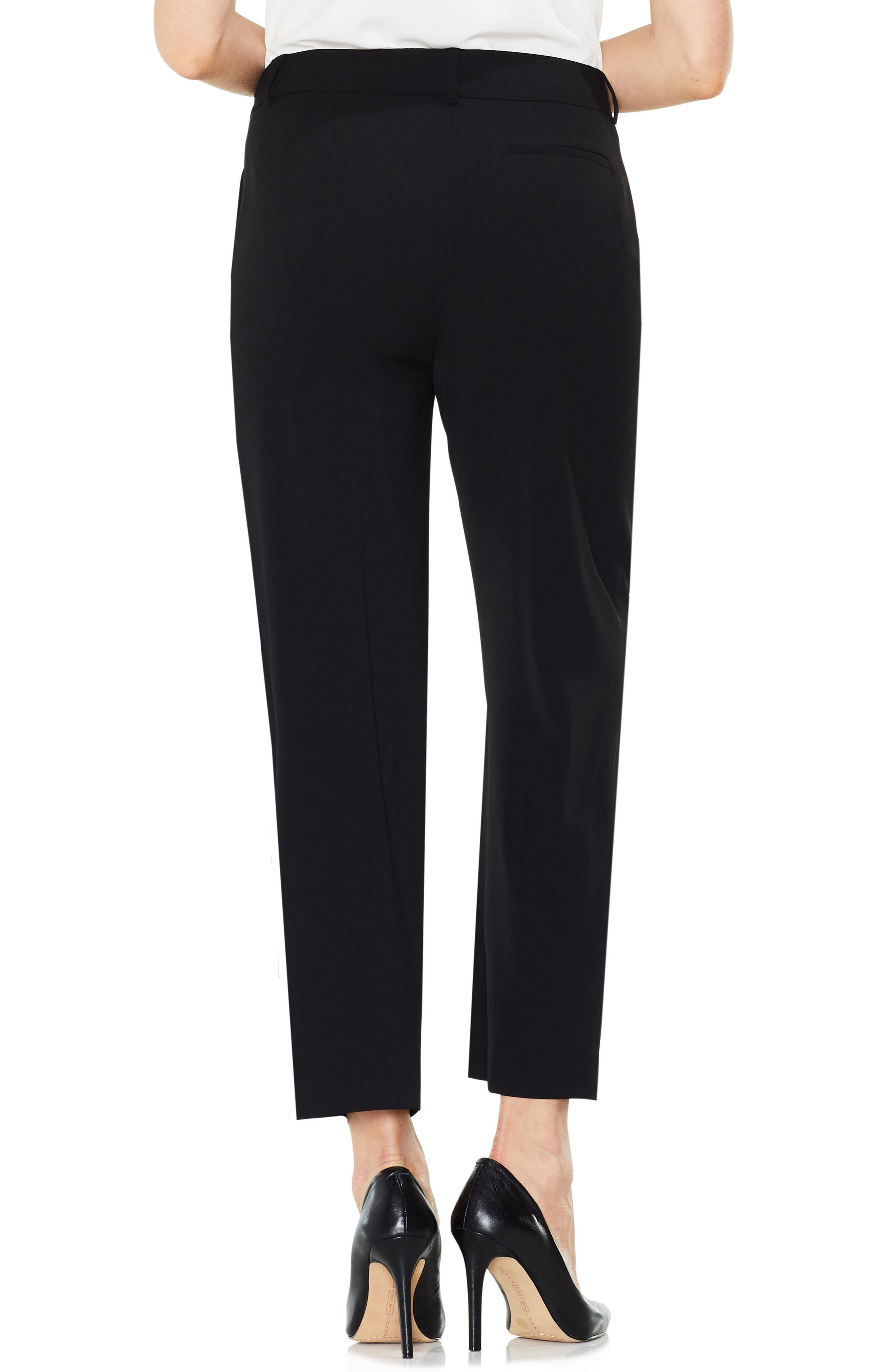 Alternate Image 2  - Vince Camuto Straight Leg Crop Pants
