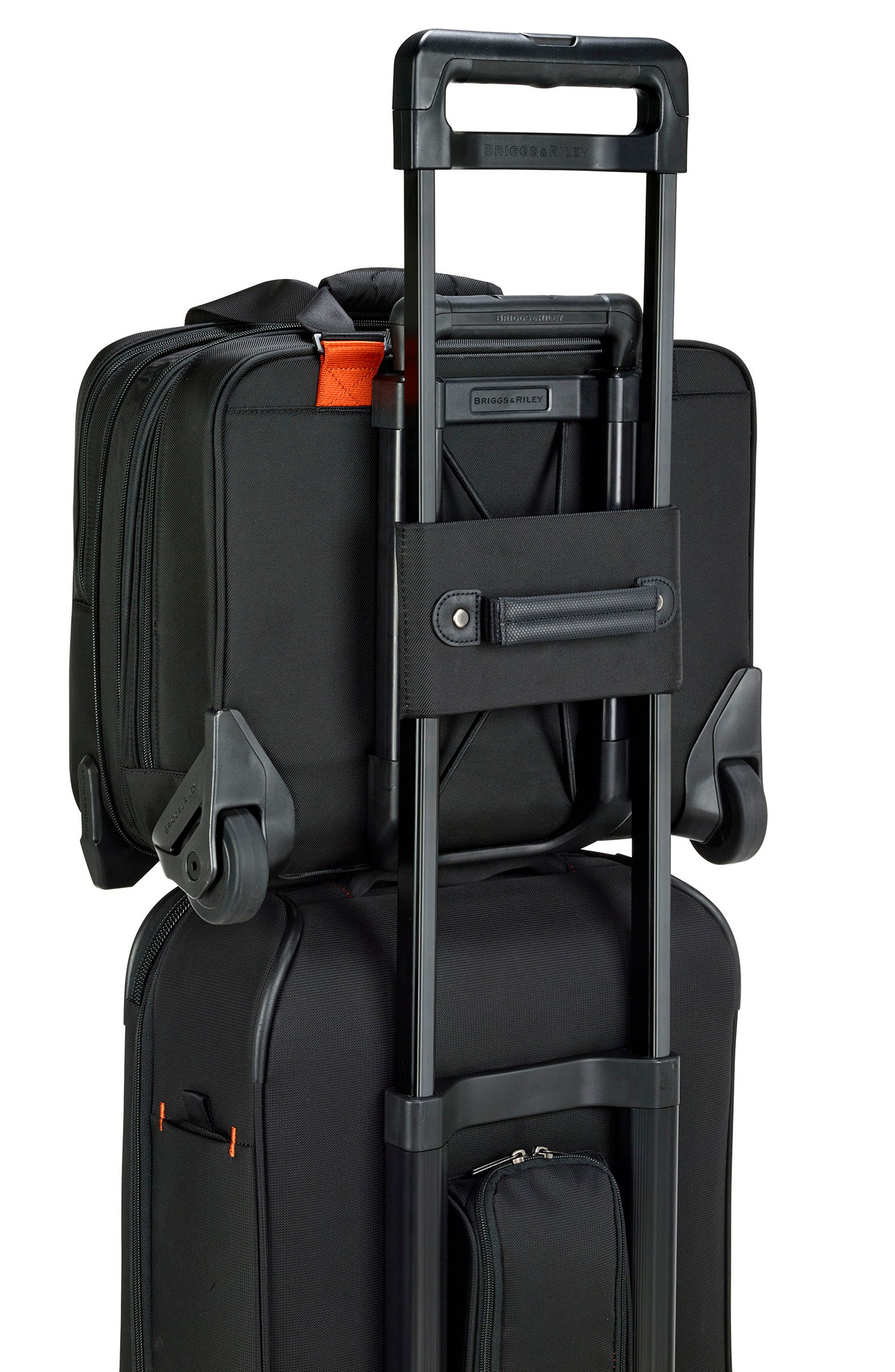 'Verb - Propel' Rolling Briefcase,                             Alternate thumbnail 4, color,                             Black