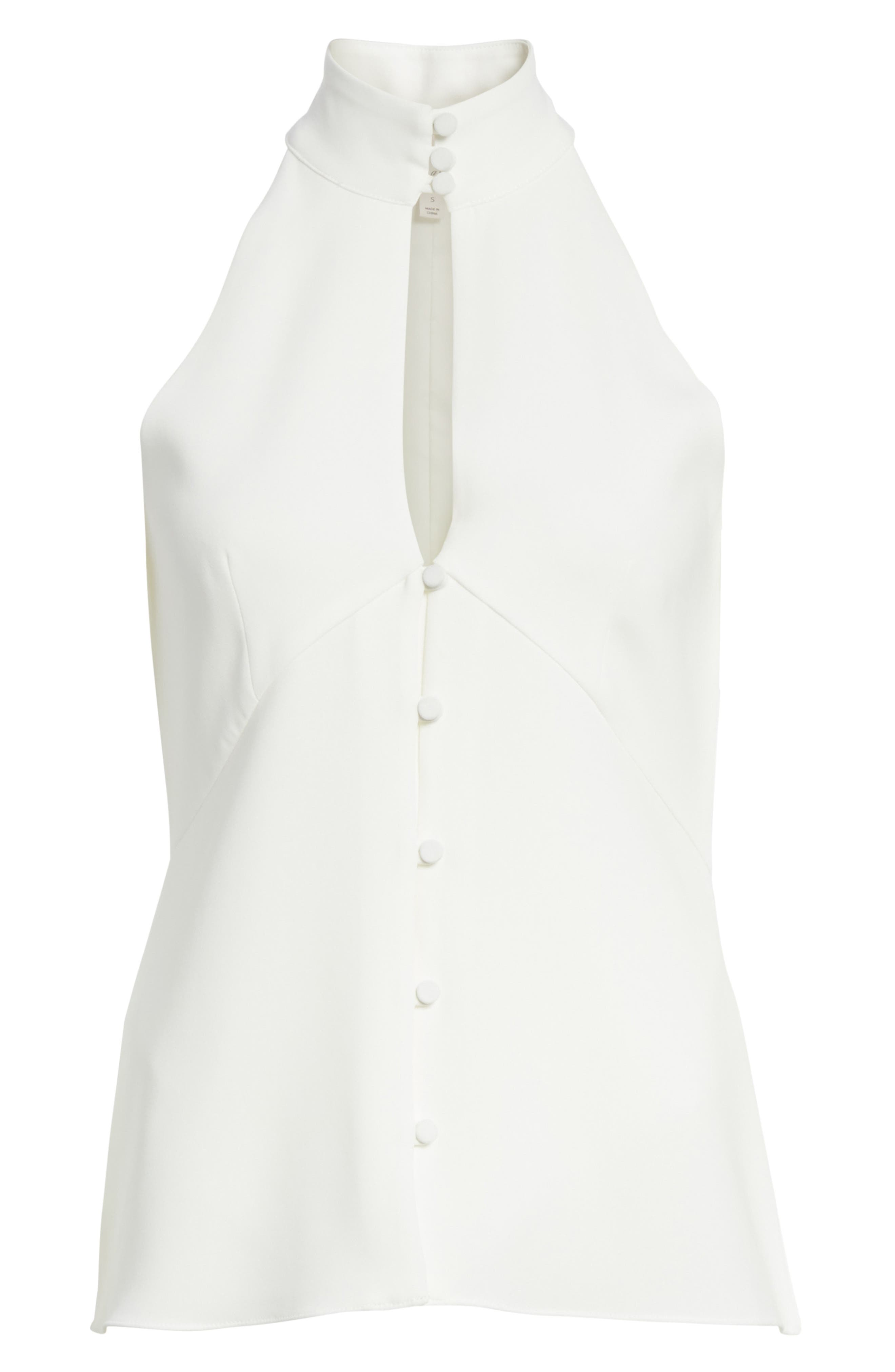 Fallon Top,                             Alternate thumbnail 6, color,                             Ivory