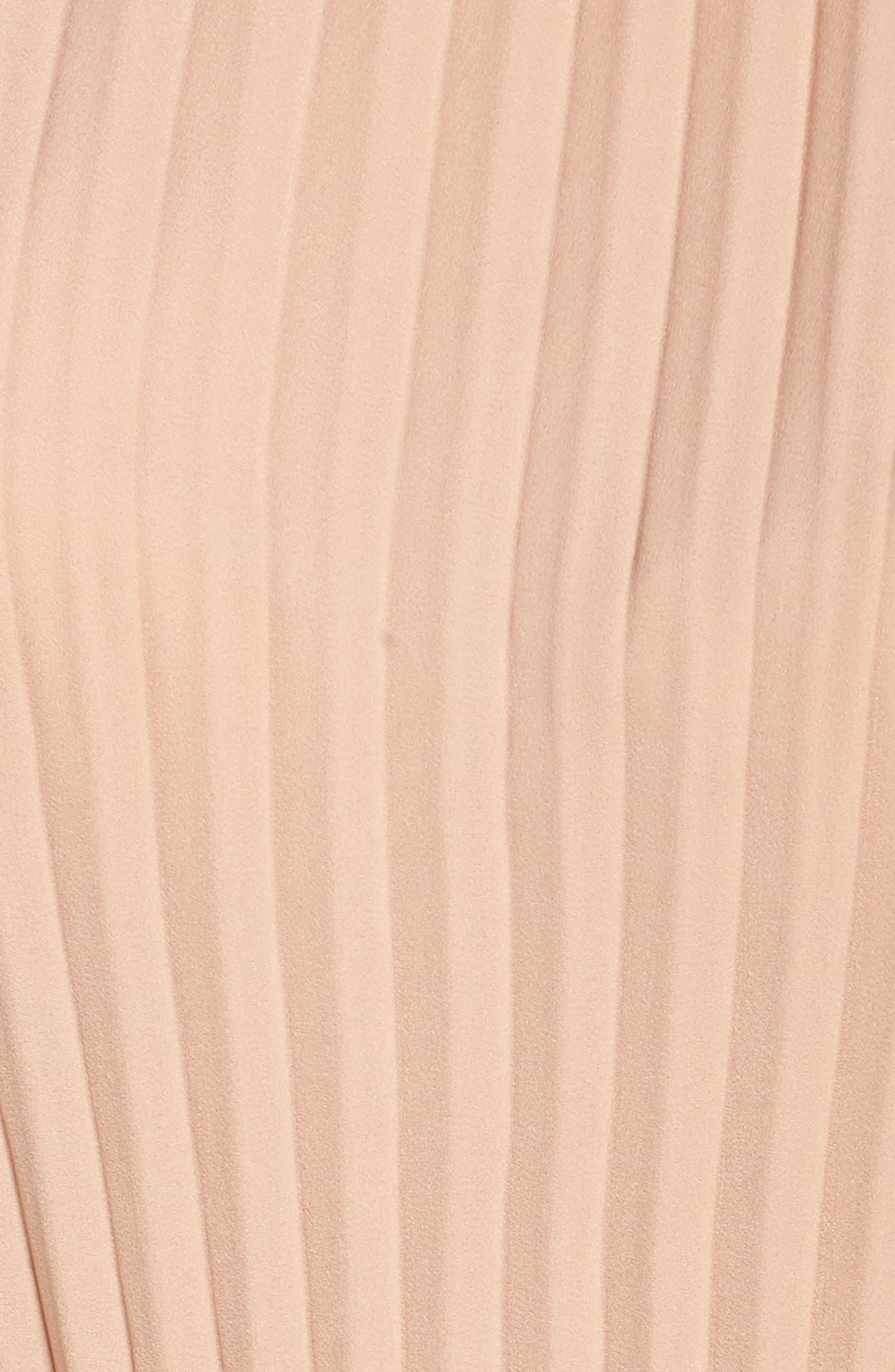 Alternate Image 5  - Ali & Jay Papillon Pleated Minidress