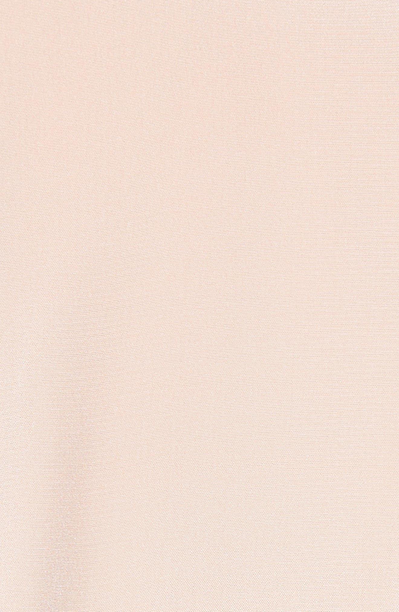 Silk Jumpsuit,                             Alternate thumbnail 5, color,                             Blush