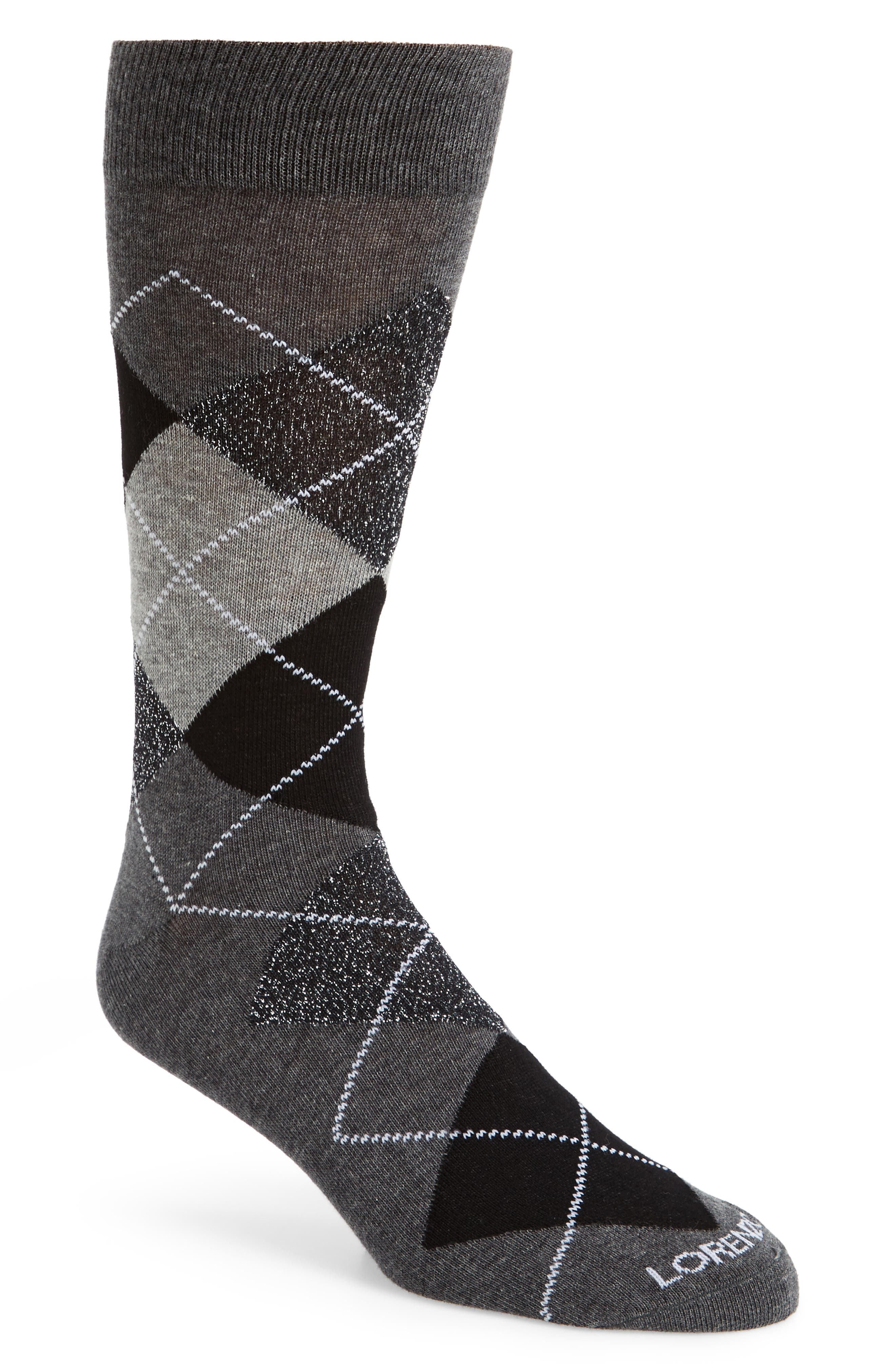 Lorenzo Uomo Argyle Socks (3 for $30)