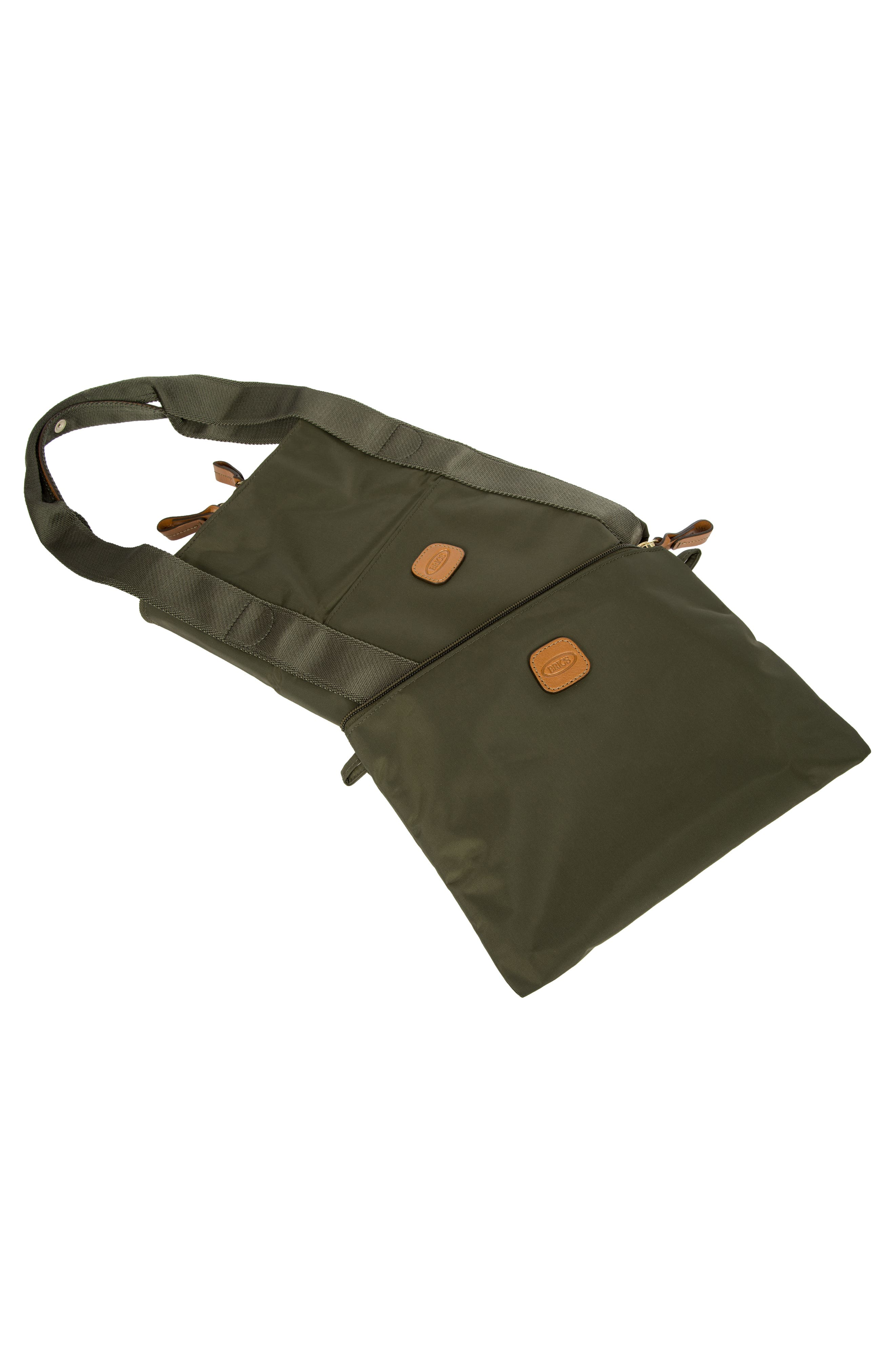 X-Bag 18-Inch Folding Duffel Bag,                             Alternate thumbnail 4, color,                             Olive