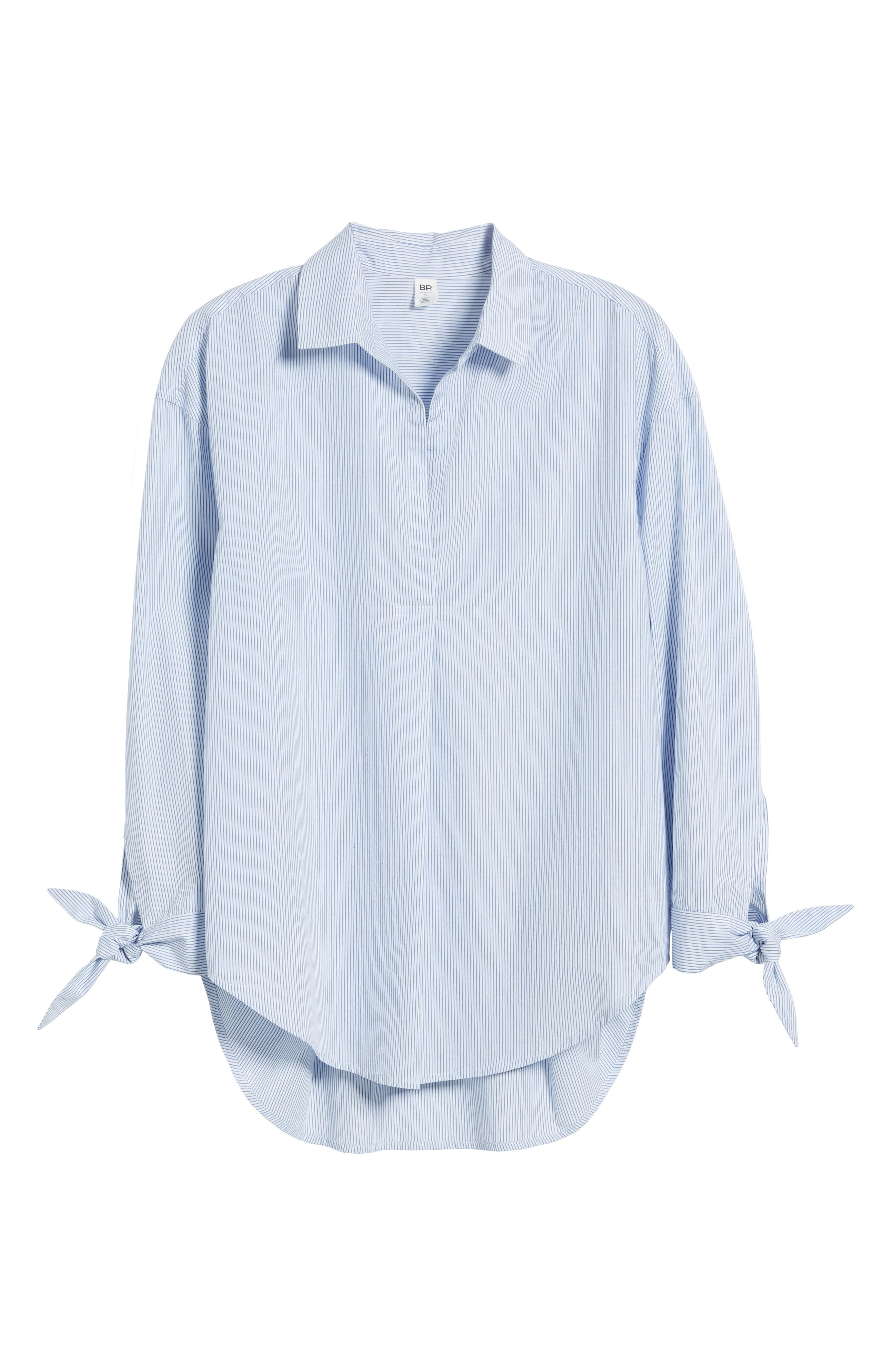 Alternate Image 6  - BP. Tie Sleeve Tunic Shirt