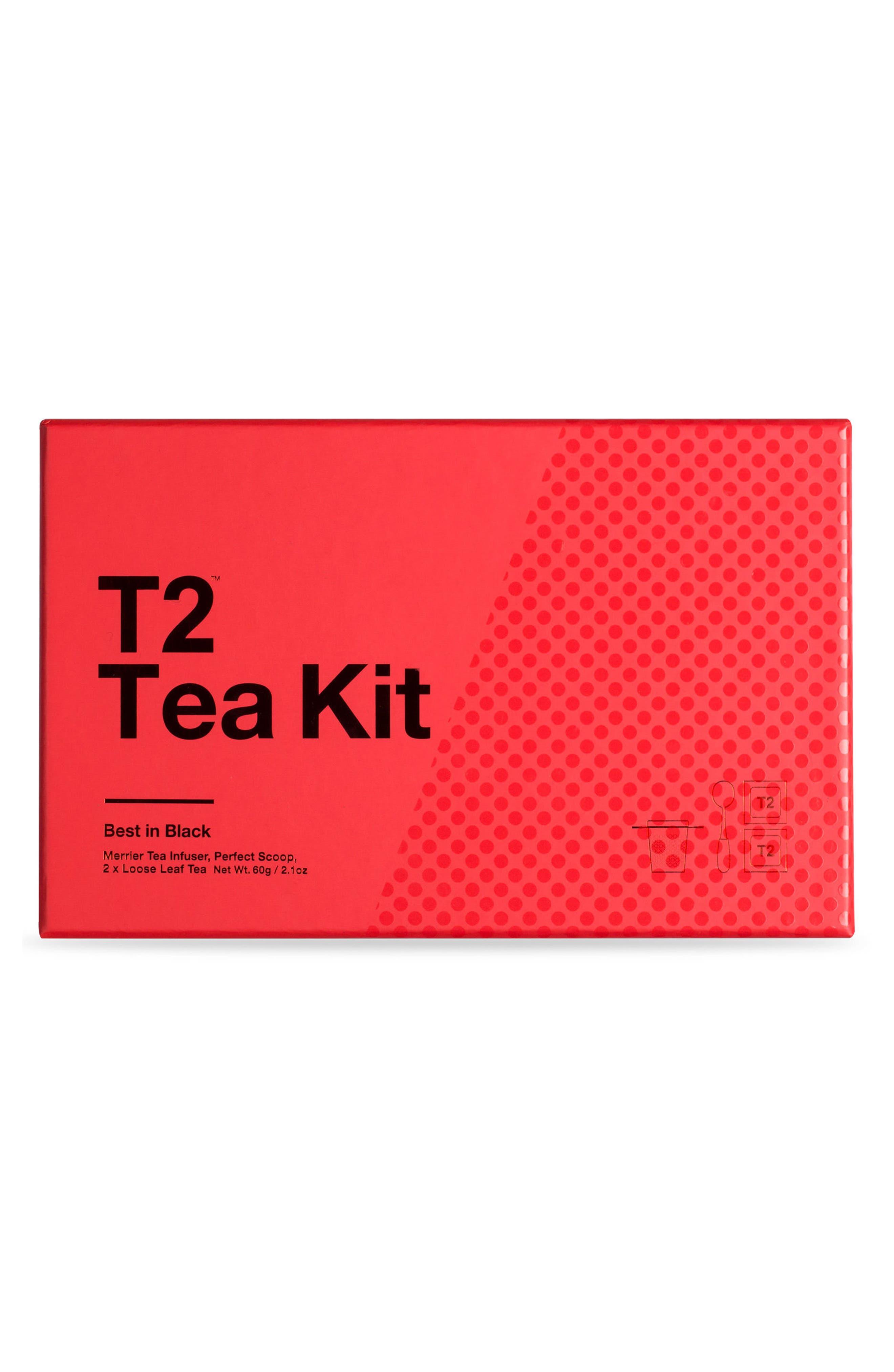 Alternate Image 1 Selected - T2 Tea Best in Black Loose Leaf Tea Box Set