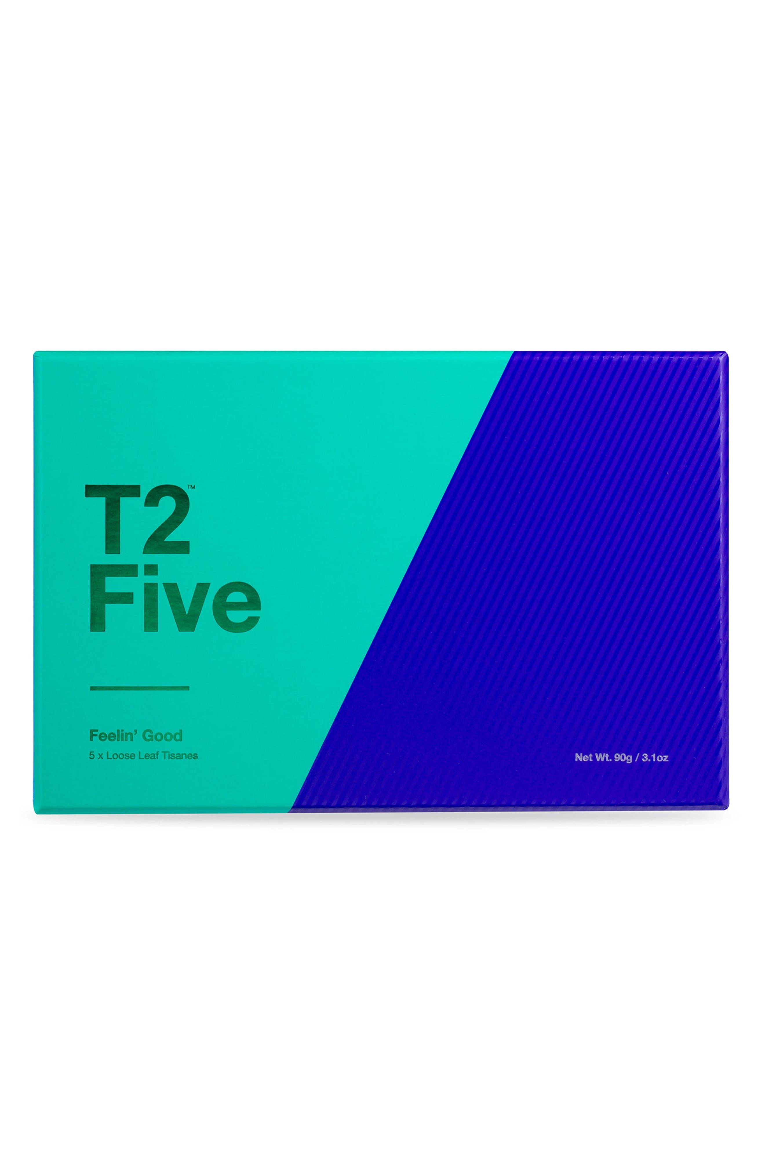 T2 Tea Five Feelin' Good Loose Leaf Tea Box Set