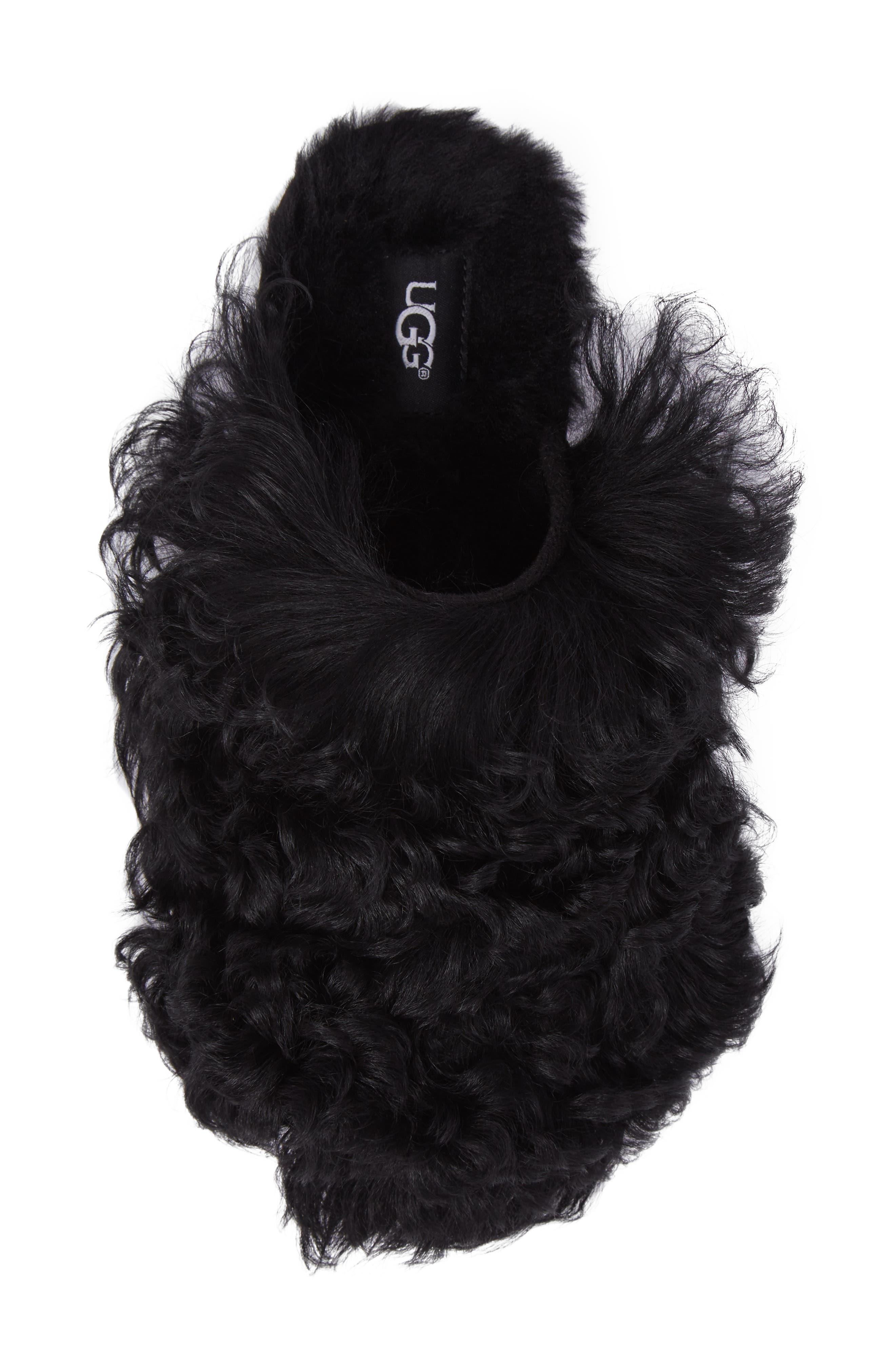 Alternate Image 4  - UGG® Fluff Momma Genuine Shearling Slipper (Women)