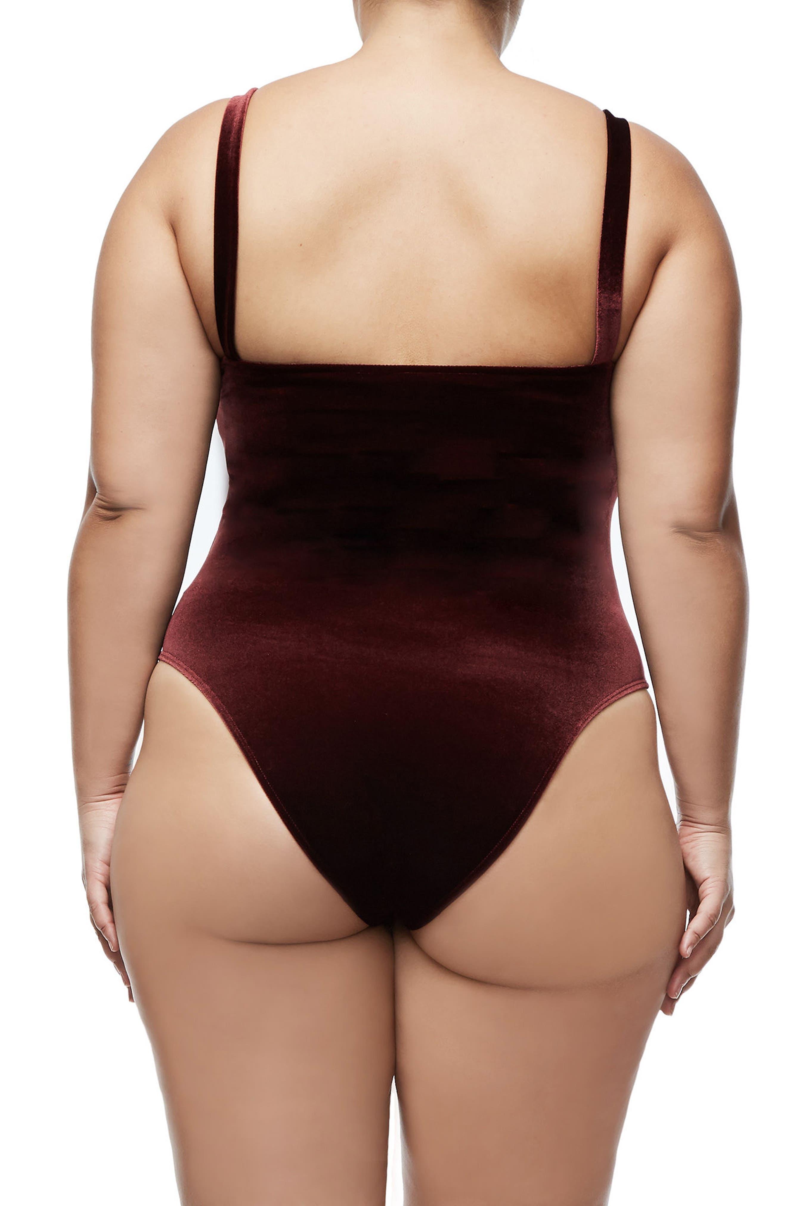 Alternate Image 4  - Good American Sweetheart Bodysuit (Regular & Plus Size)