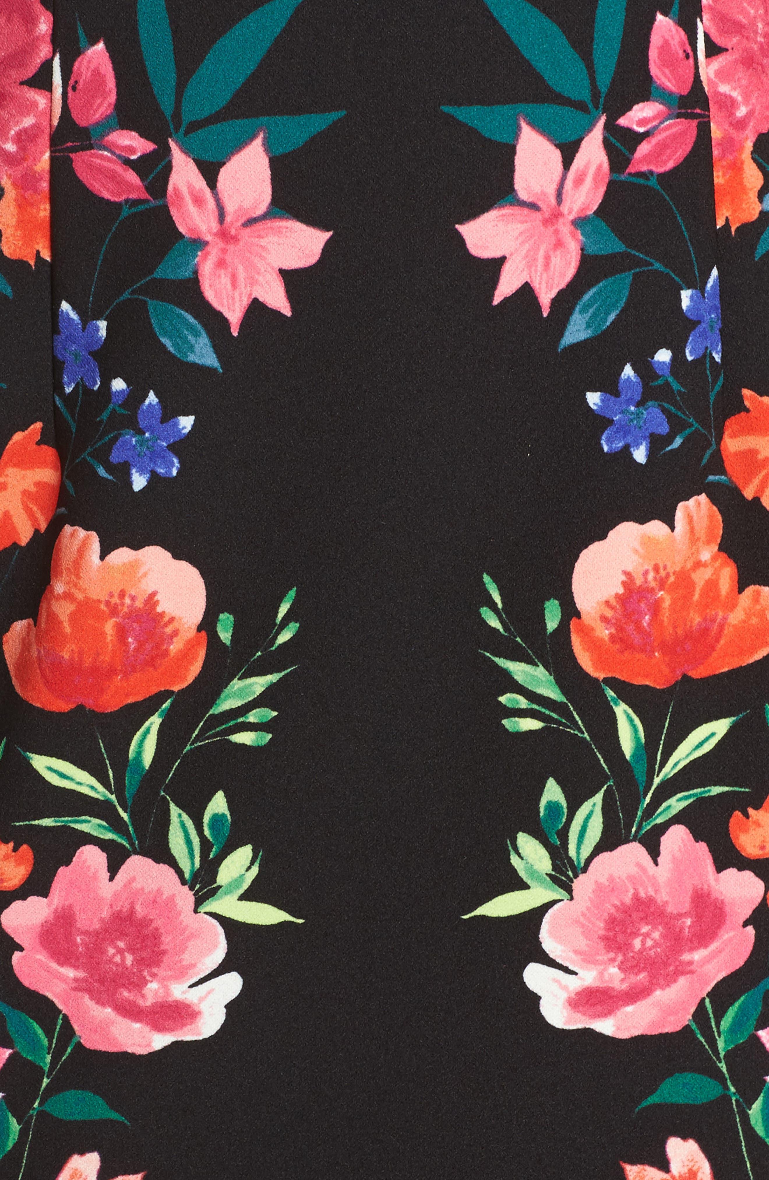 Alternate Image 5  - Eliza J Crepe Sheath Dress
