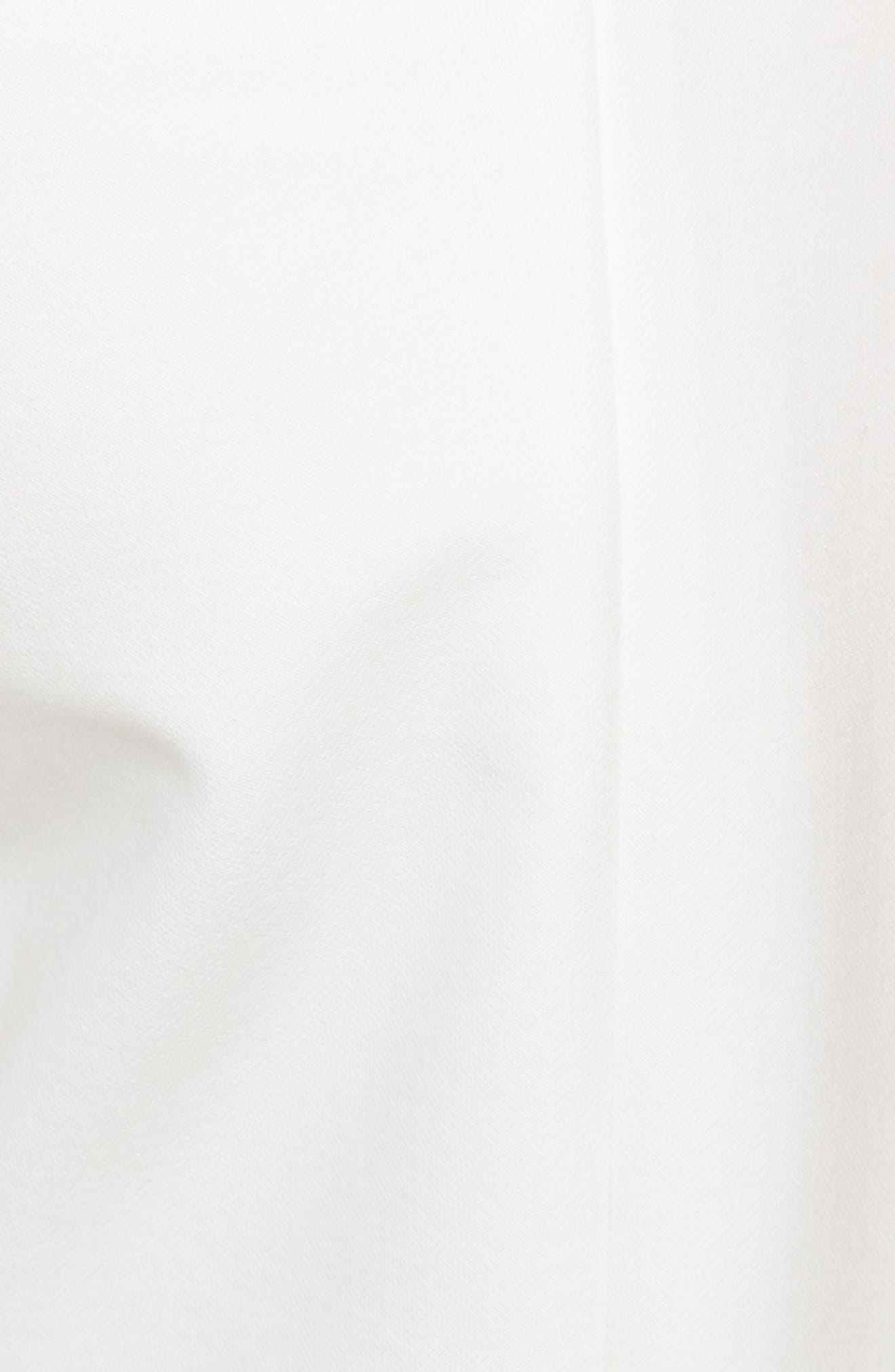 Anson Snap Side Skinny Pants,                             Alternate thumbnail 5, color,                             Ivory