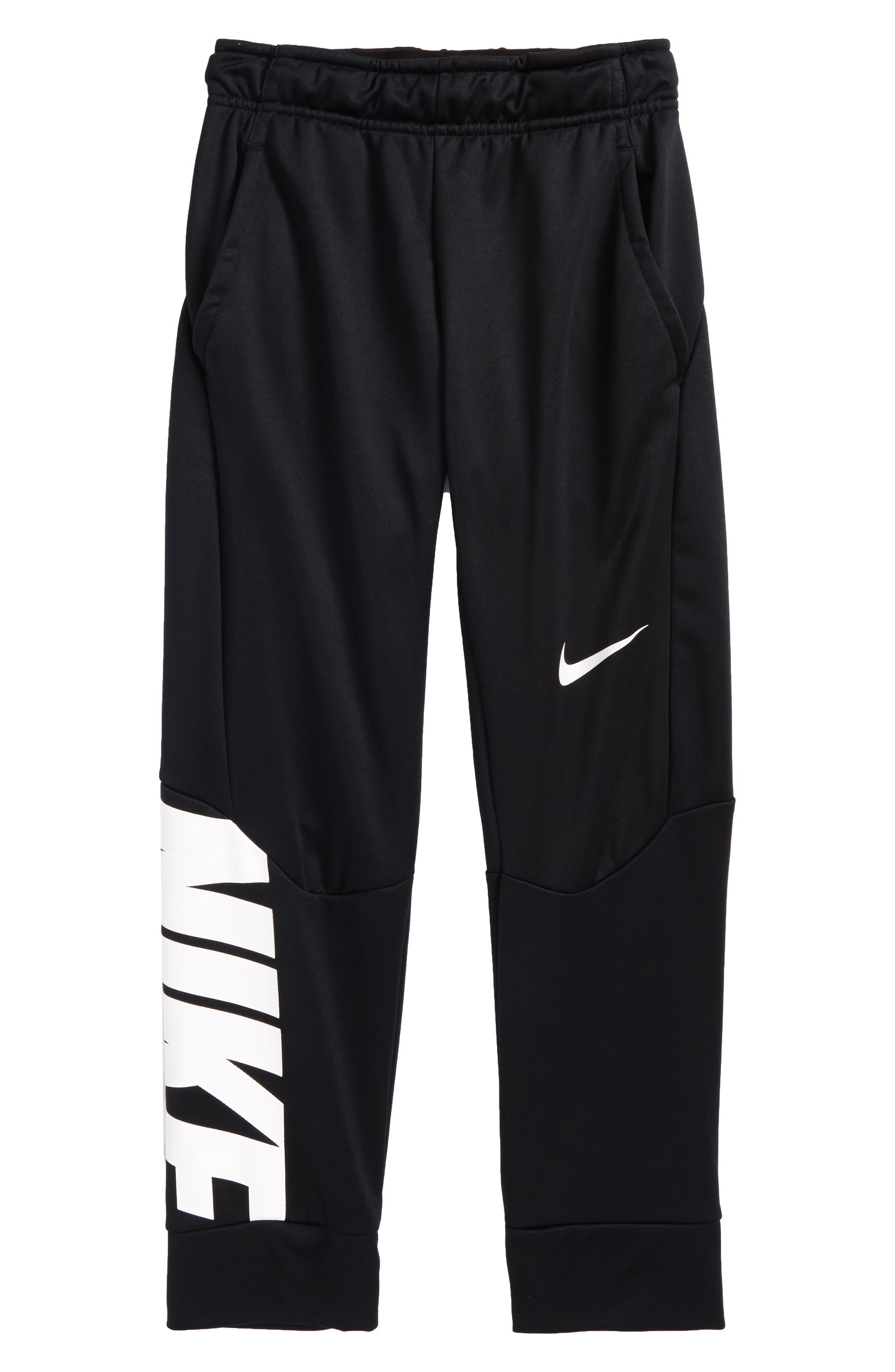 Nike Therma-FIT GFX Fleece Jogger Pants (Little Boys & Big Boys)