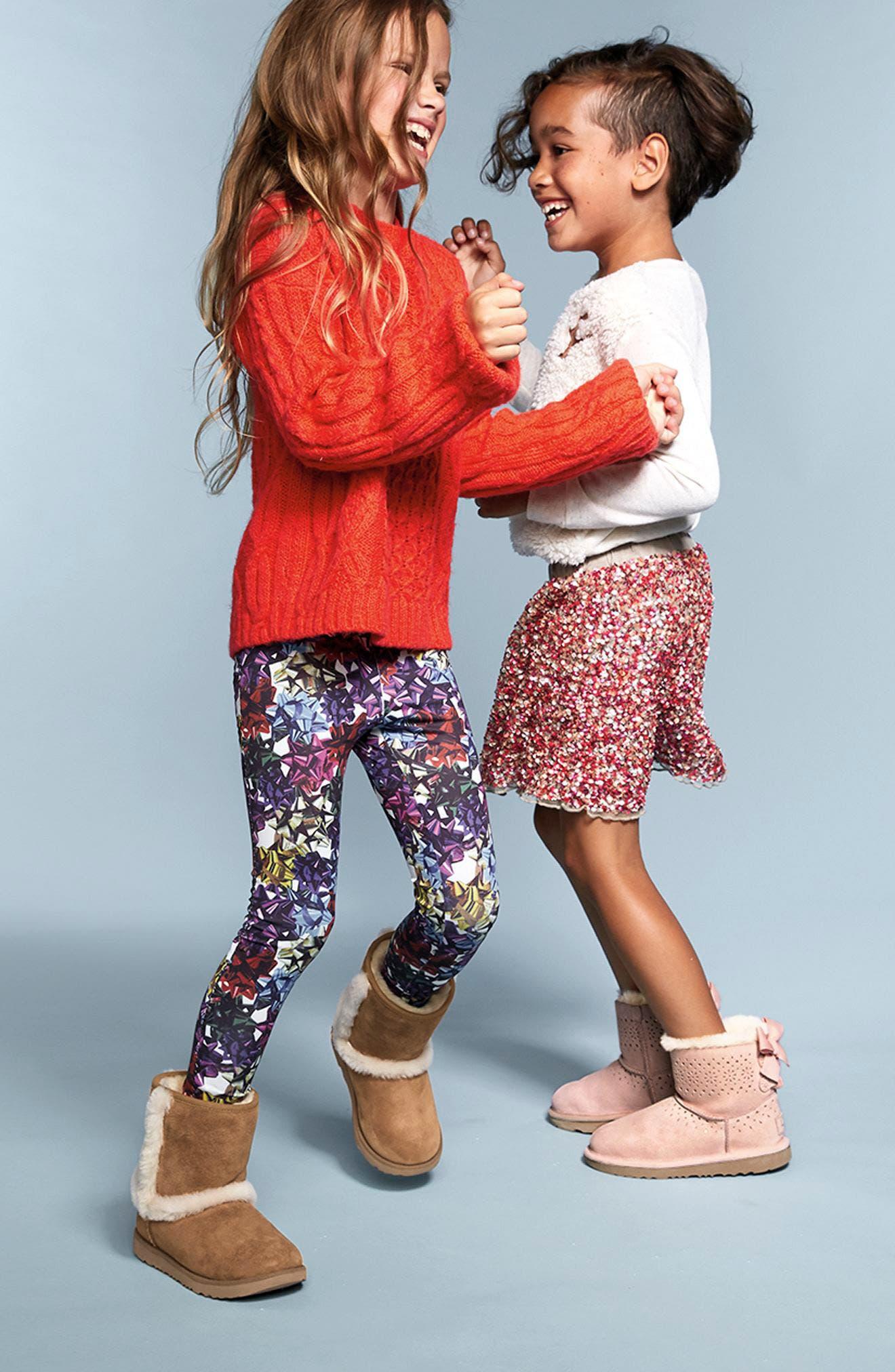 Alternate Image 2  - Peek Ella Sequin Skirt (Little Girls & Big Girls)