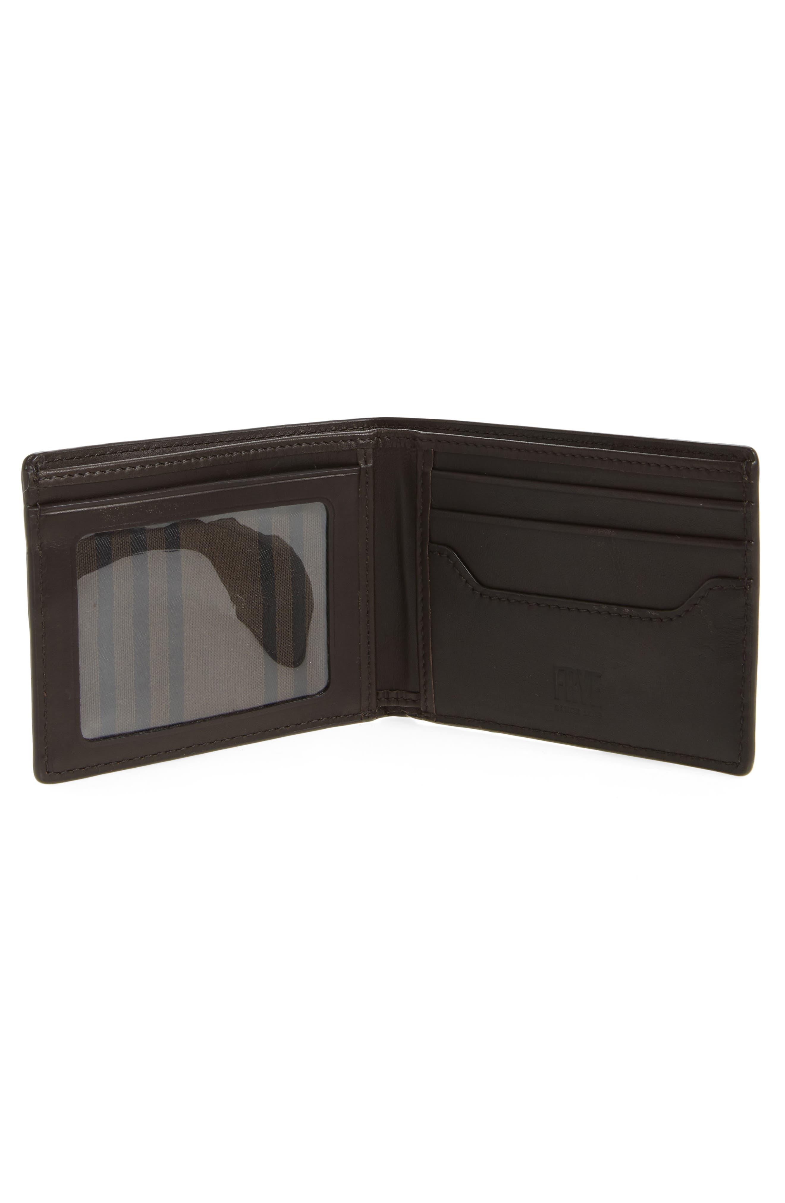Alternate Image 2  - Frye Logan Leather Wallet
