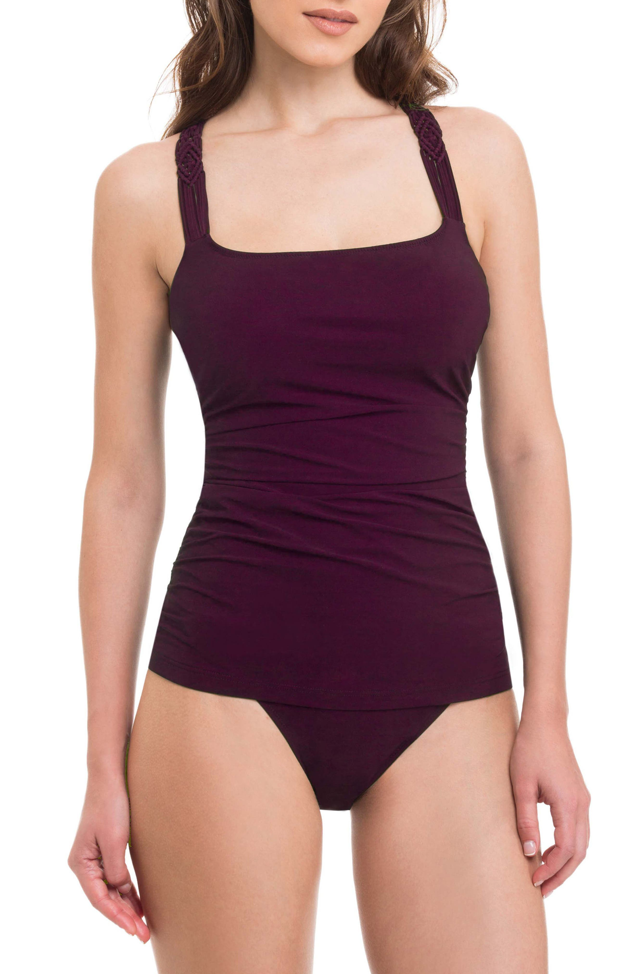 Profile by Gottex Java Underwire Tankini Top (D-Cup)