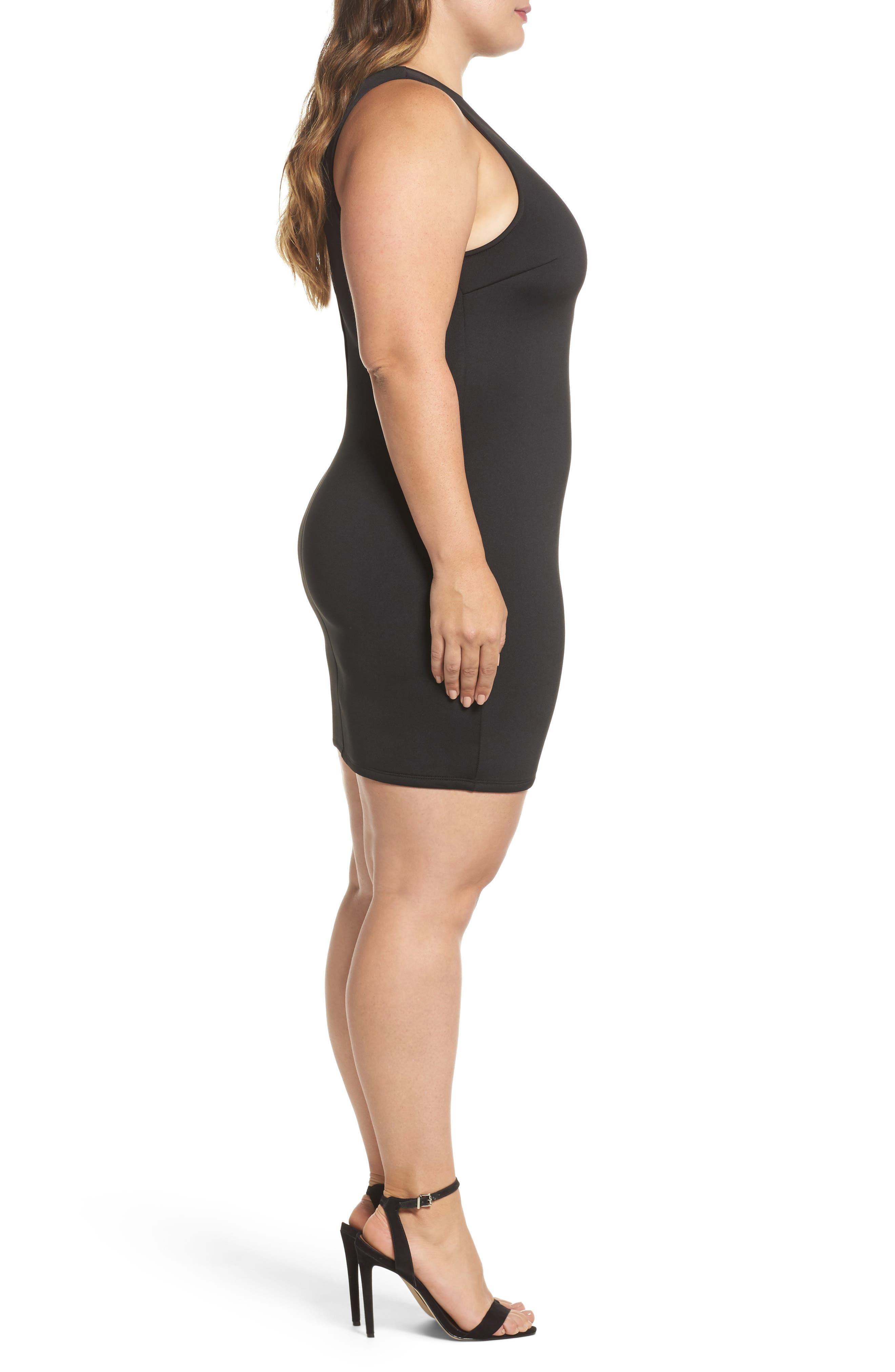 Alternate Image 3  - Soprano Strappy Body-Con Dress