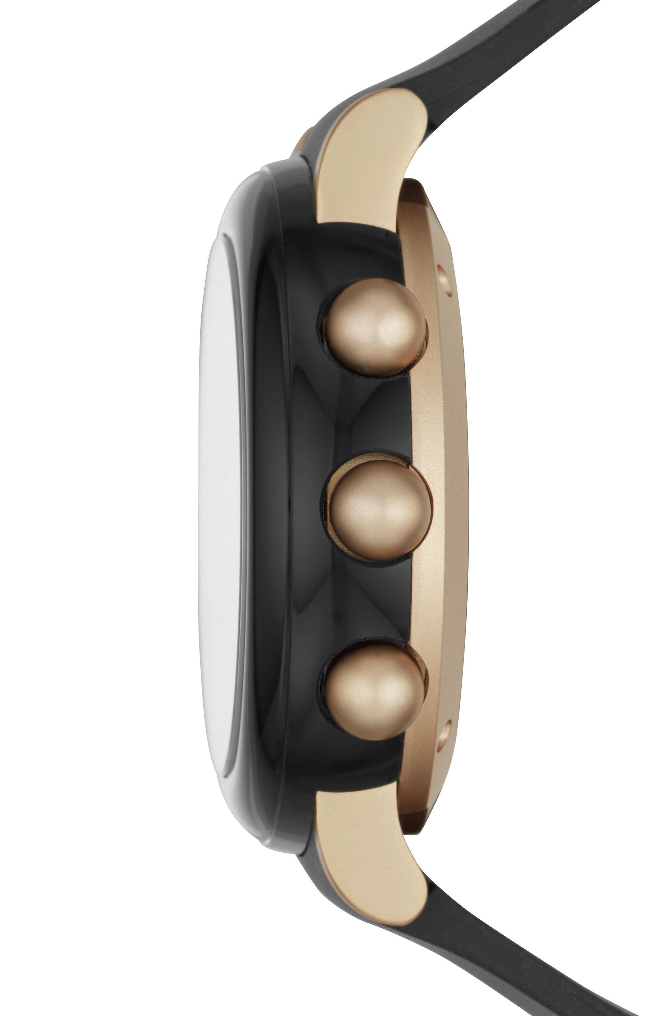 Alternate Image 3  - Marc Jacobs Riley Hybrid Rubber Strap Watch, 42mm