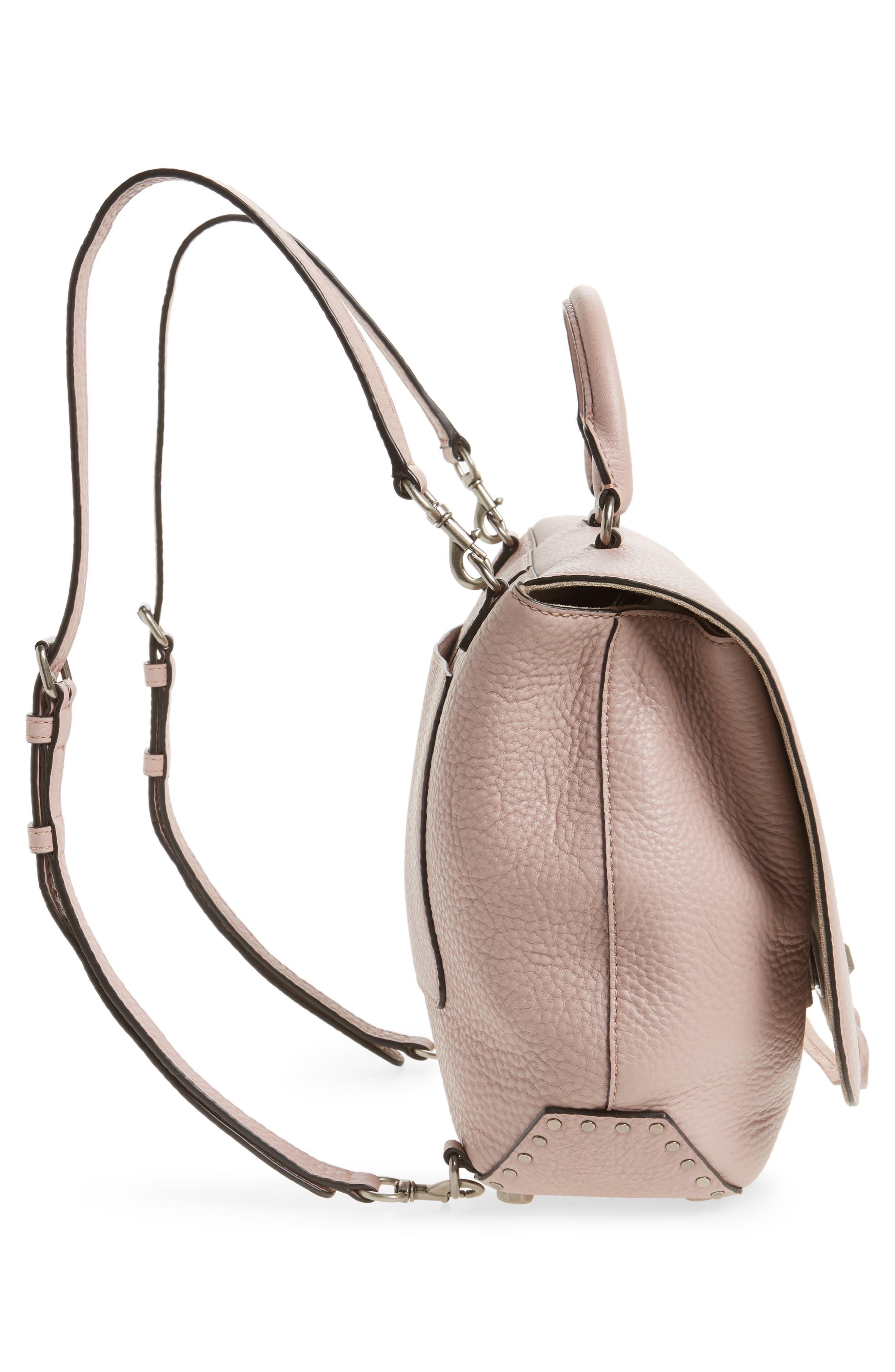 Alternate Image 5  - Rebecca Minkoff Darren Convertible Leather Backpack