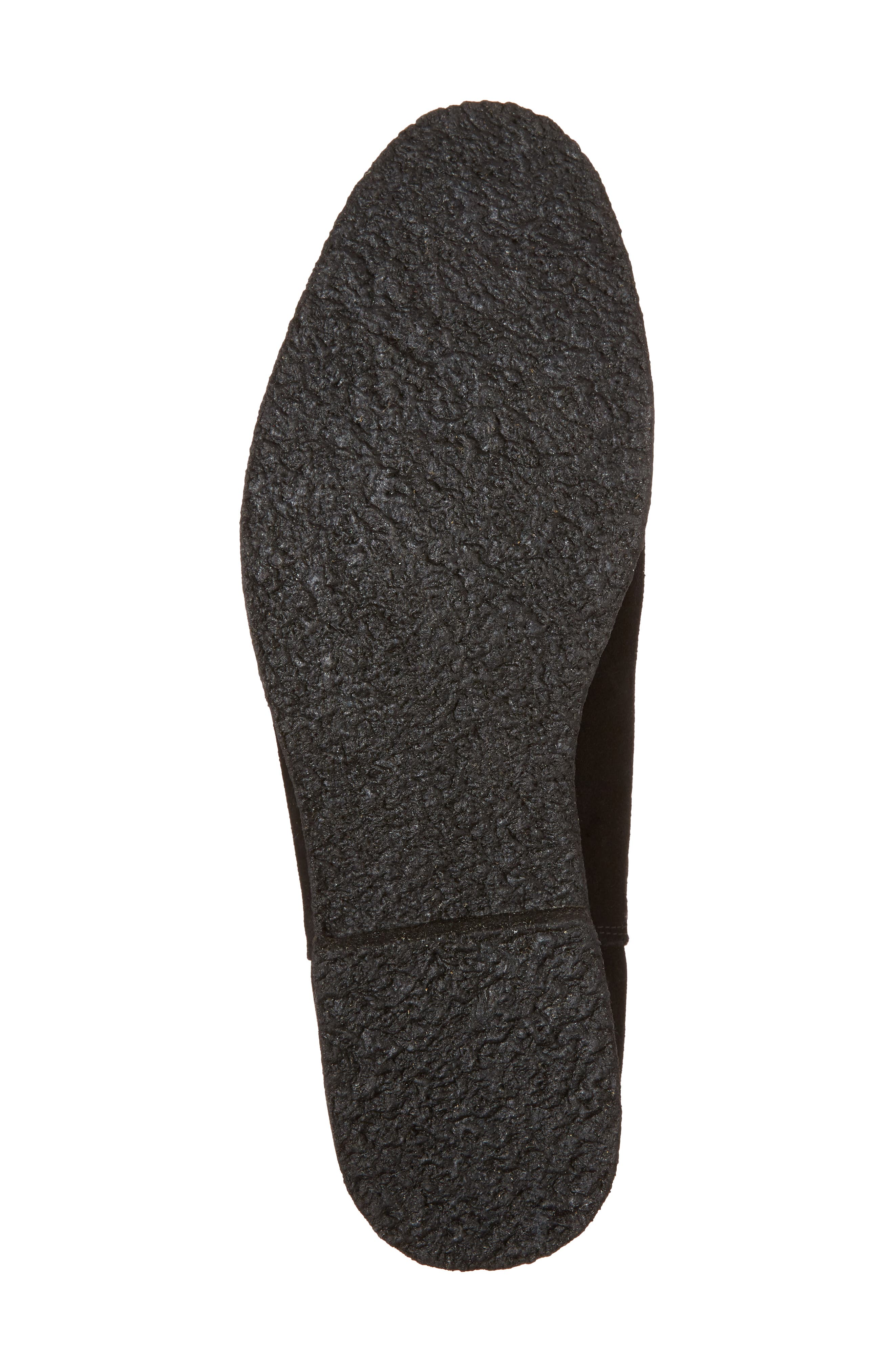 Jared Chelsea Boot,                             Alternate thumbnail 6, color,                             Black Suede