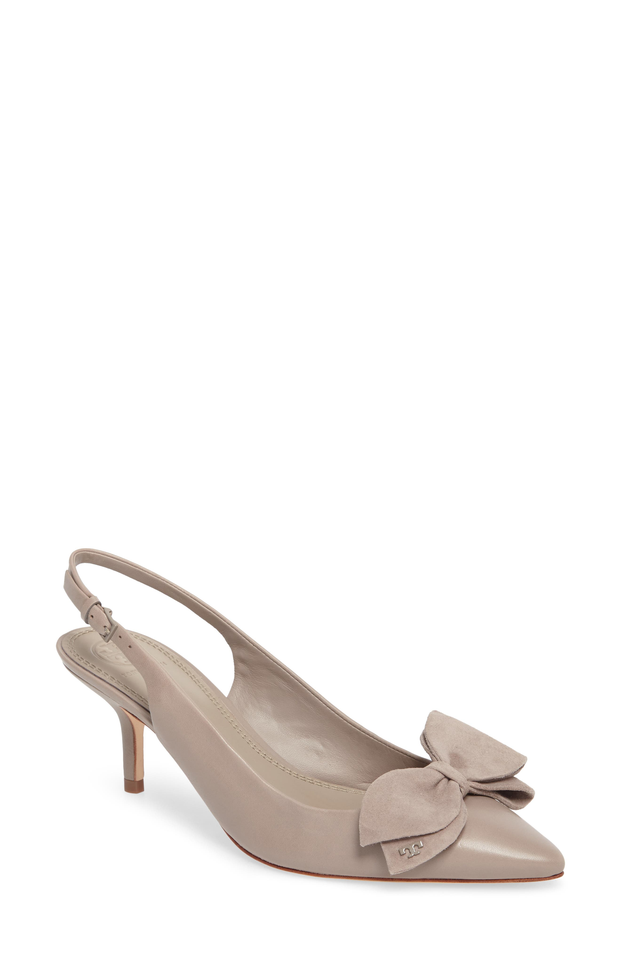 46dd677126b Tory Burch Rosalind Slingback Pump In Dust Storm