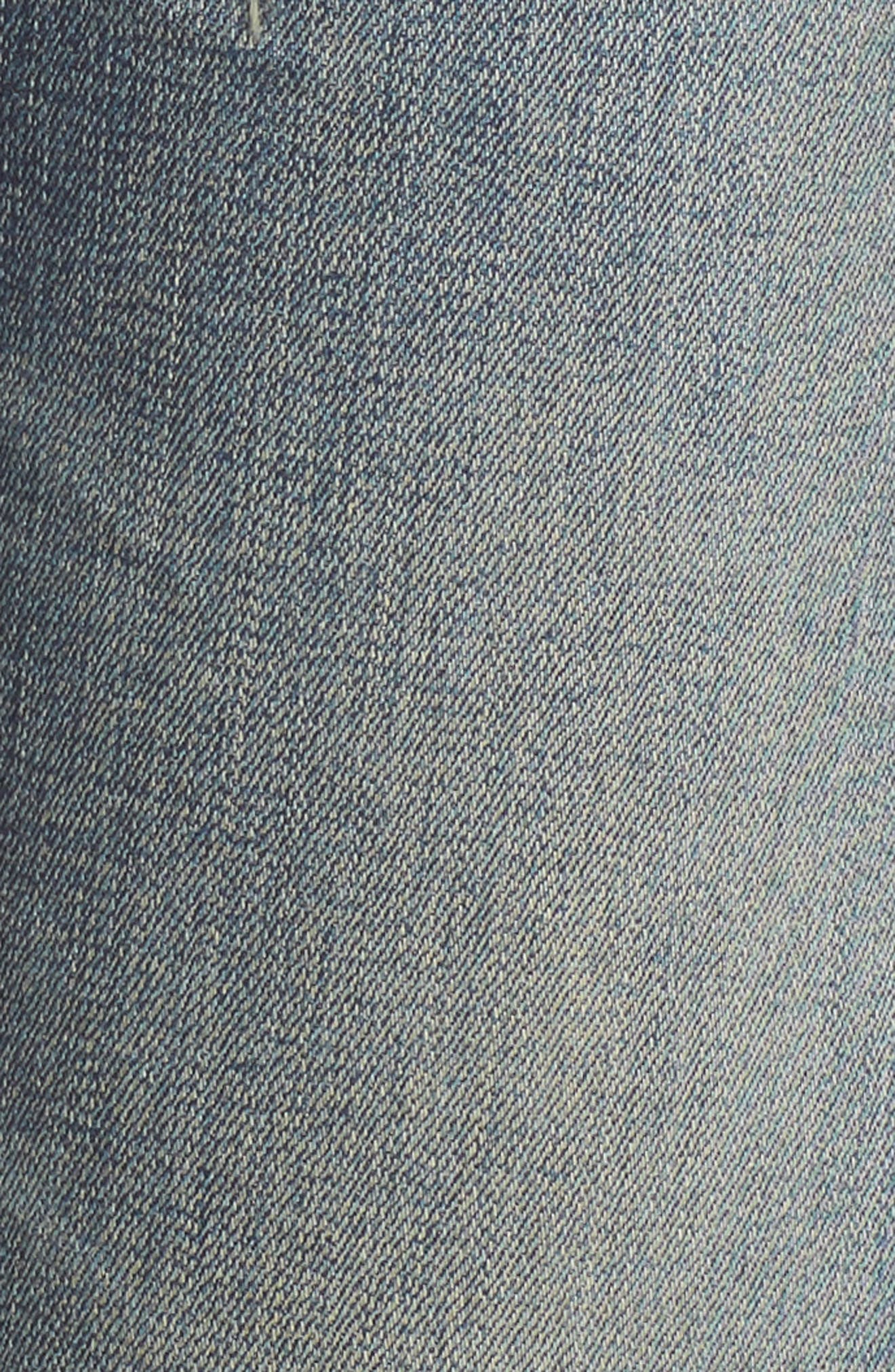 Agnes Long Jeans,                             Alternate thumbnail 5, color,                             Straight Up