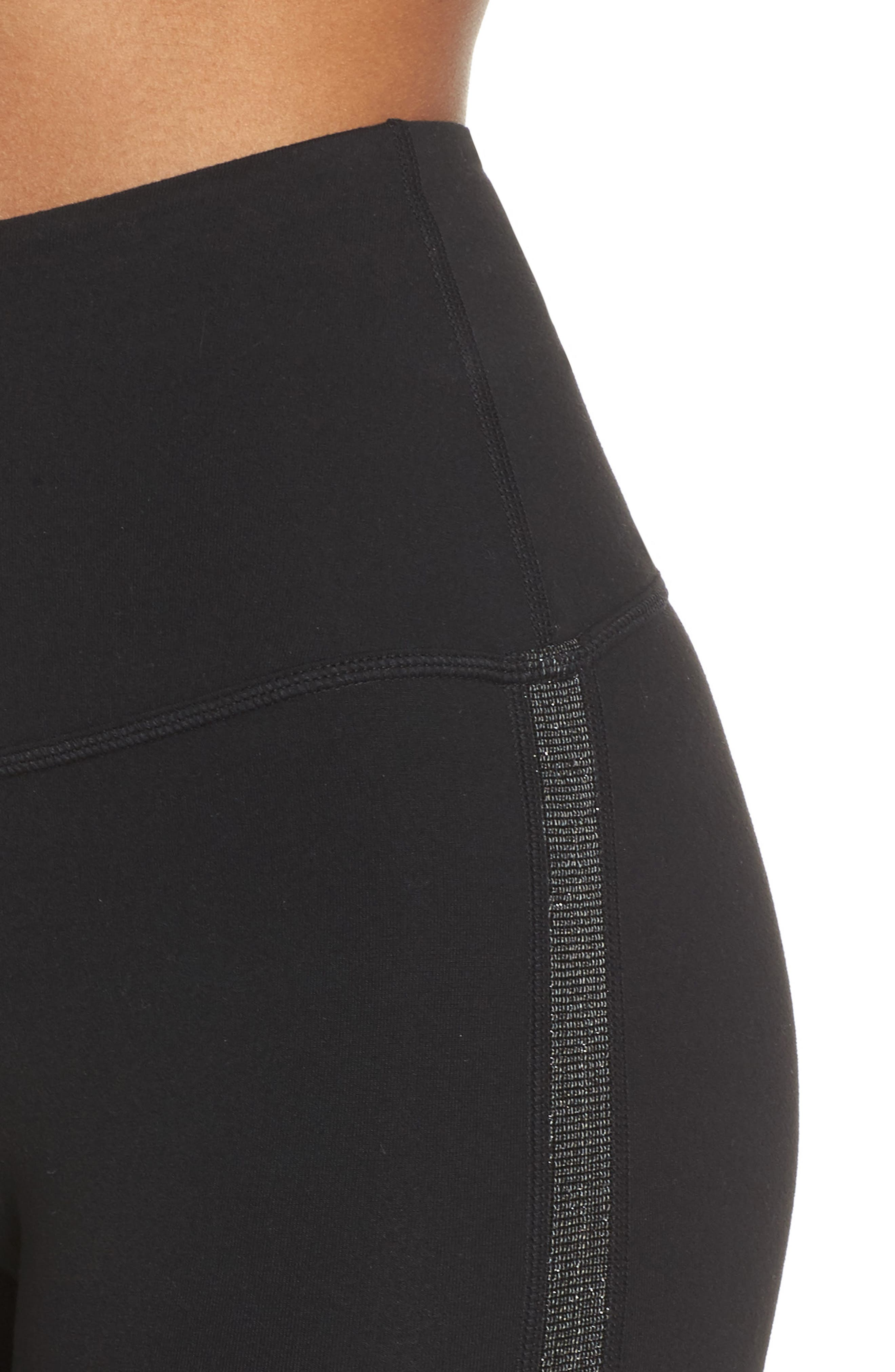 Alternate Image 5  - Beyond Yoga Fit & Trim High Waist Capri Leggings