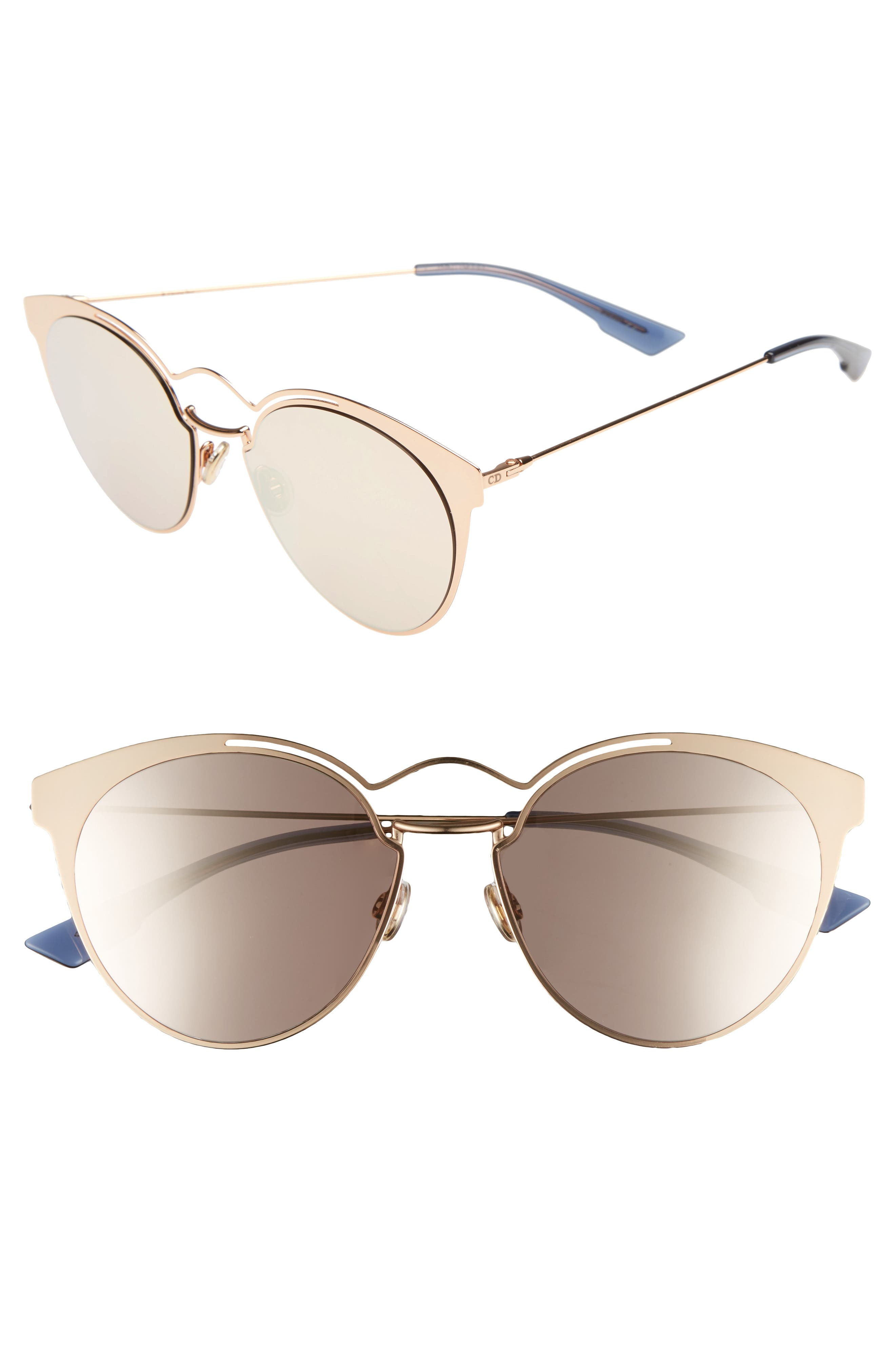 Nebuls 54mm Sunglasses,                             Main thumbnail 1, color,                             Gold Copper