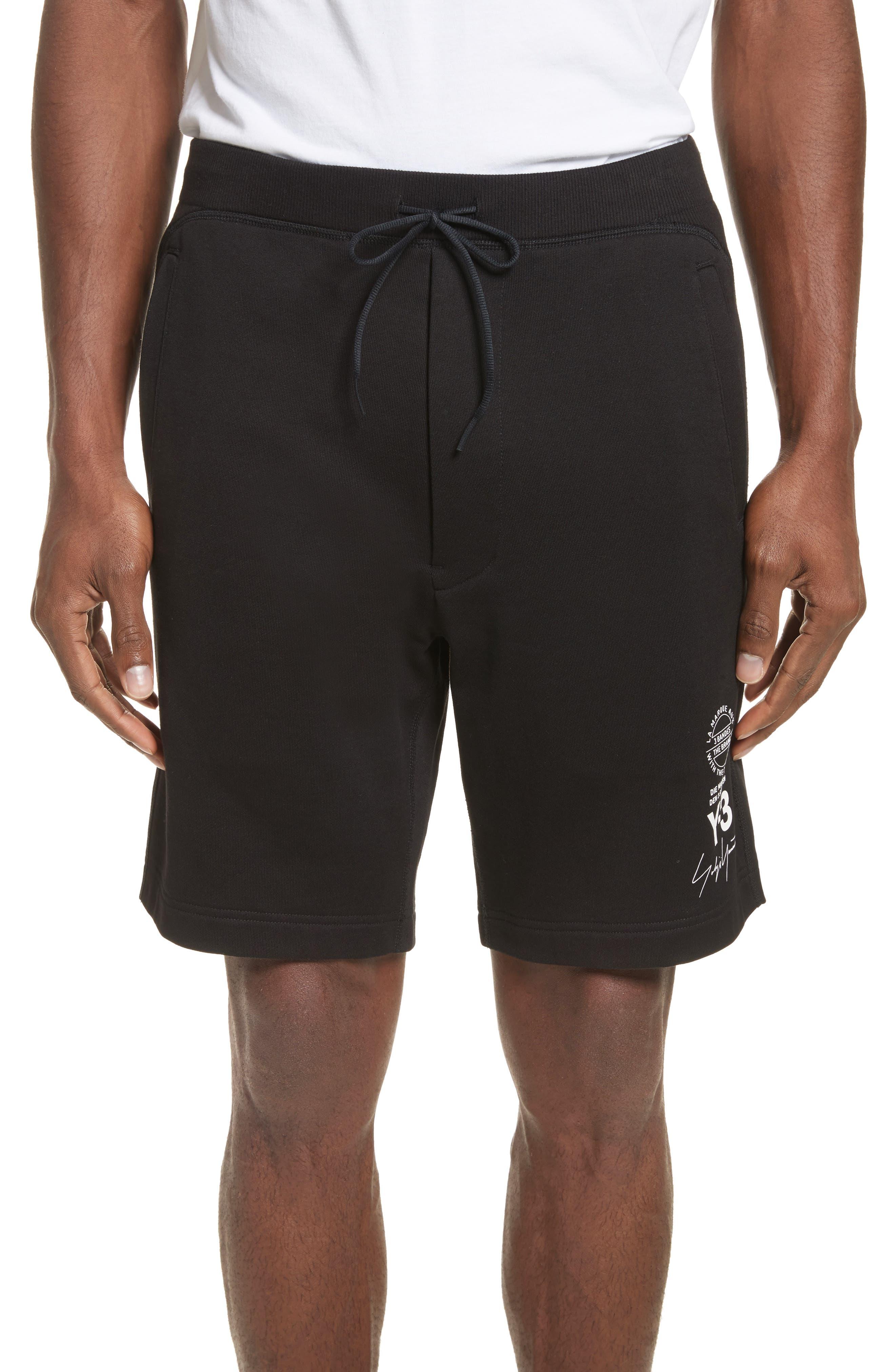 x adidas Track Shorts,                         Main,                         color, Black