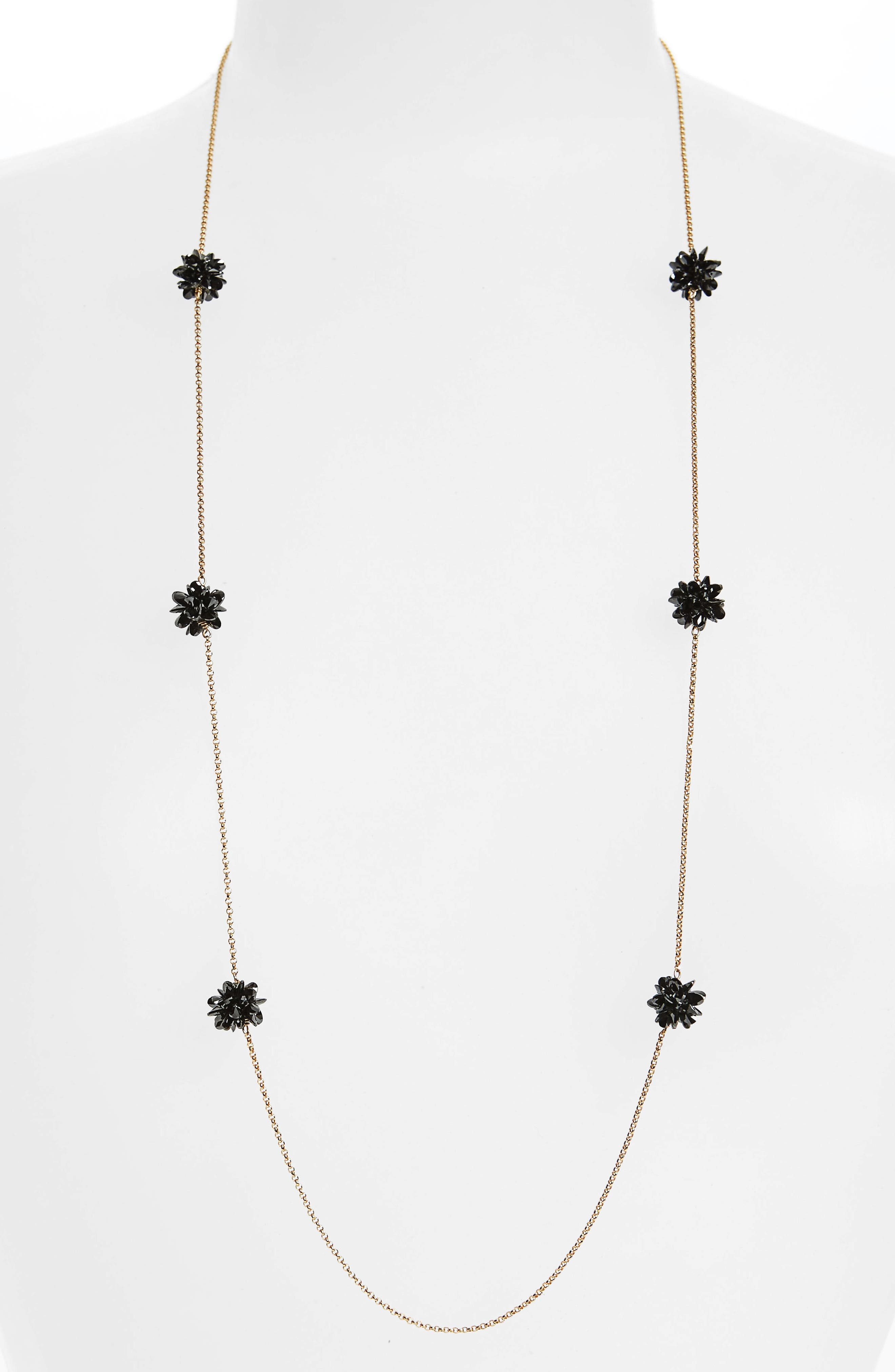 kate spade new york flying colors rock candy long station necklace