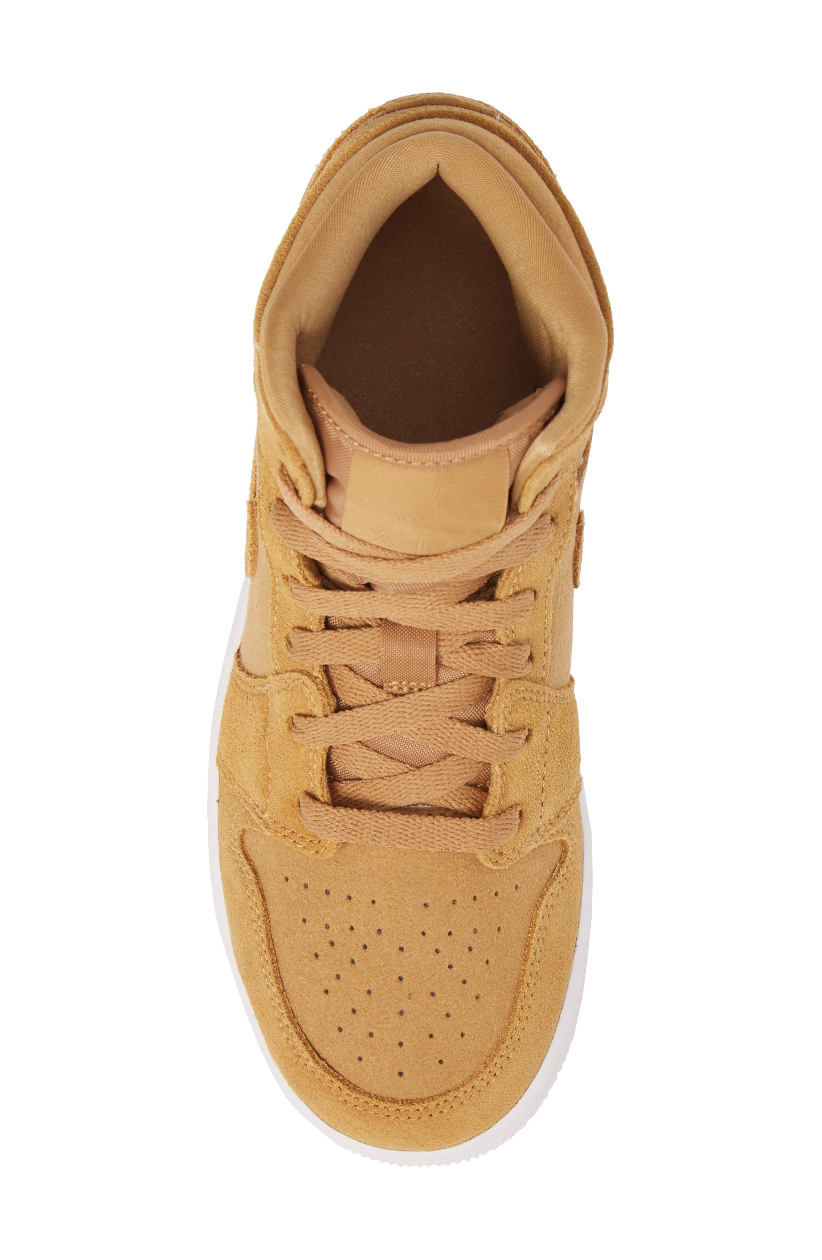 Alternate Image 5  - Nike 'Air Jordan 1 Mid' Sneaker (Big Kid)