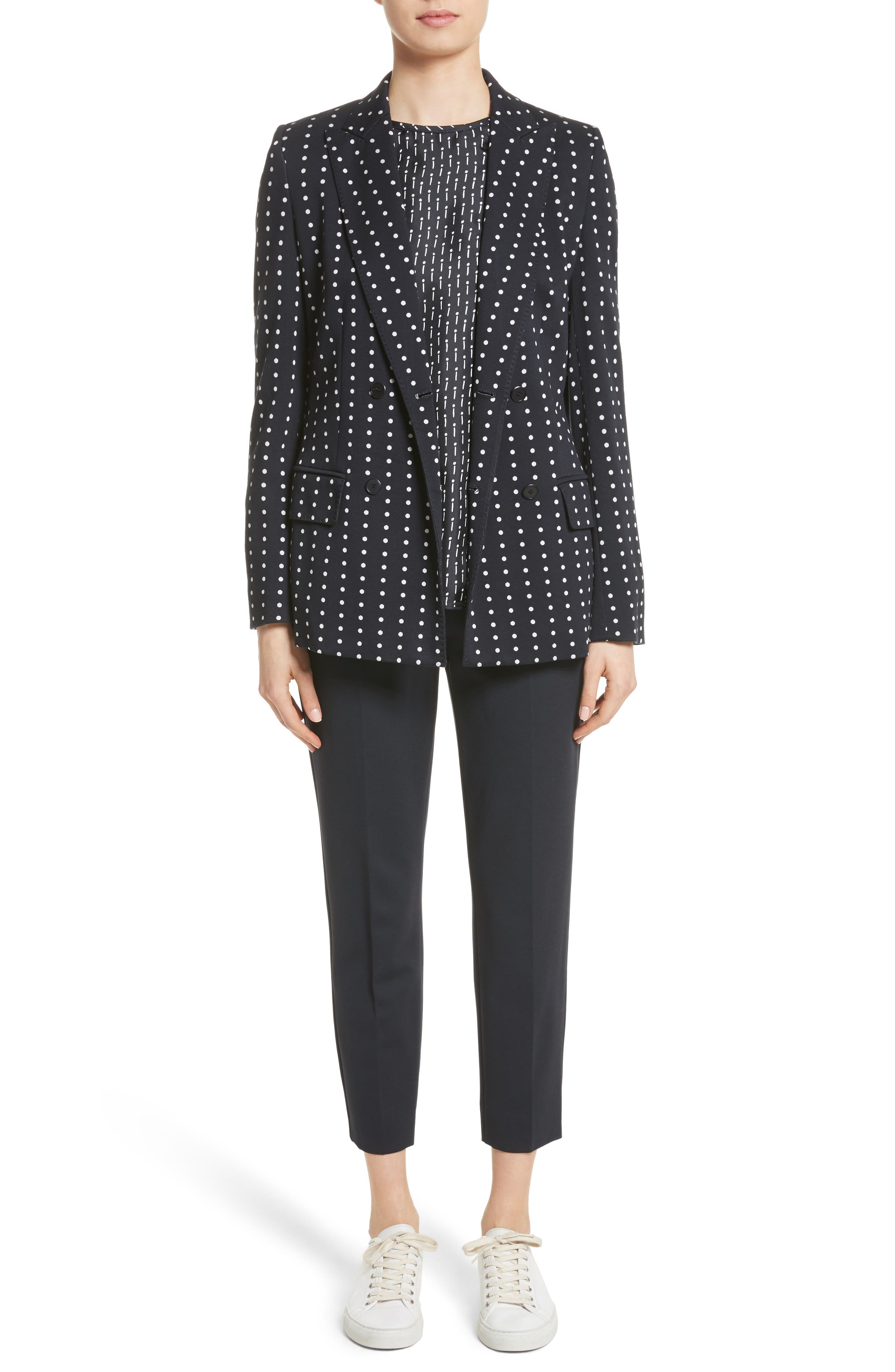 Alternate Image 6  - Max Mara Pegno Jersey Crop Pants