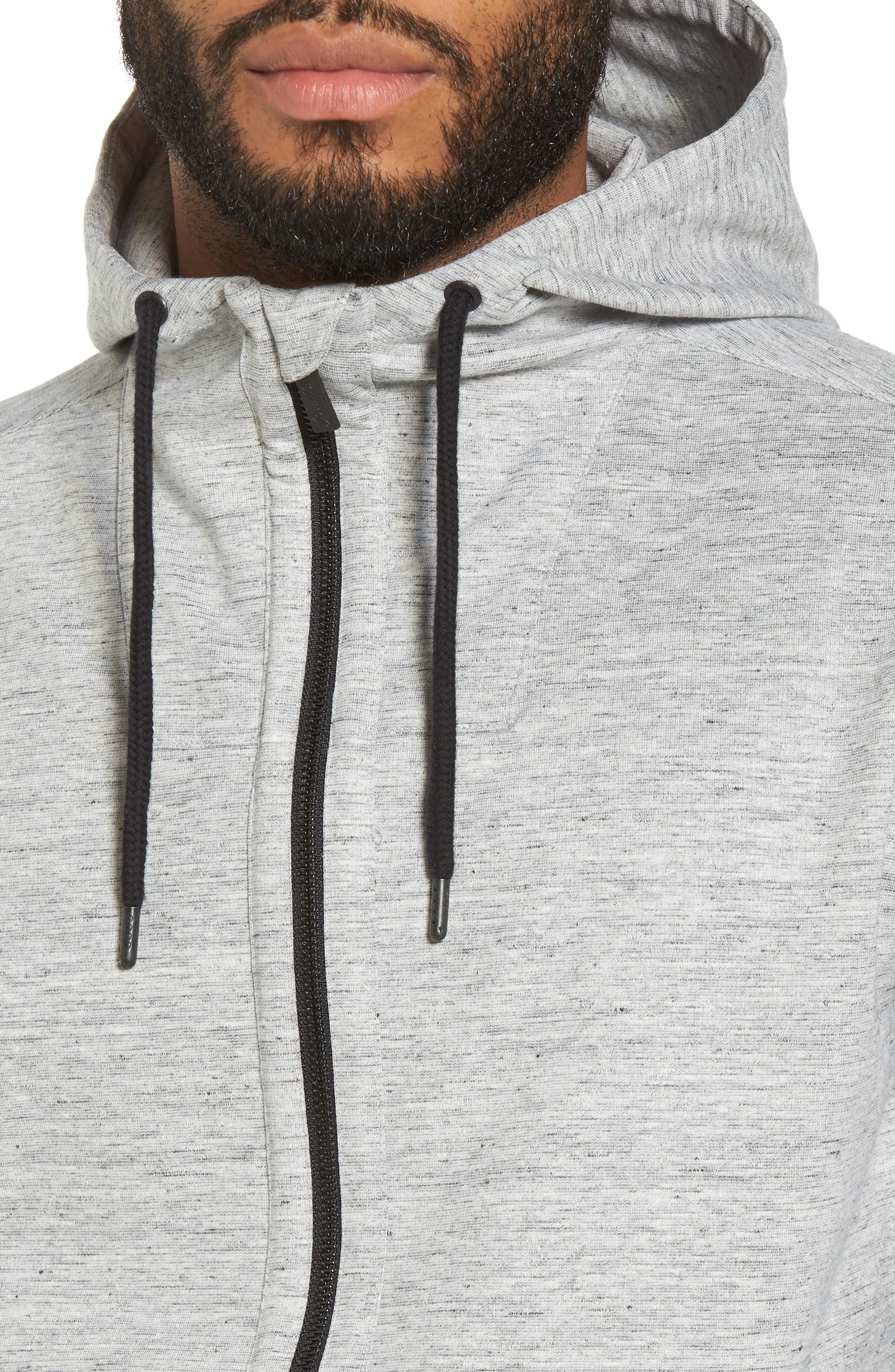 Alternate Image 4  - Good Man Brand Pro Asymmetric Hoodie