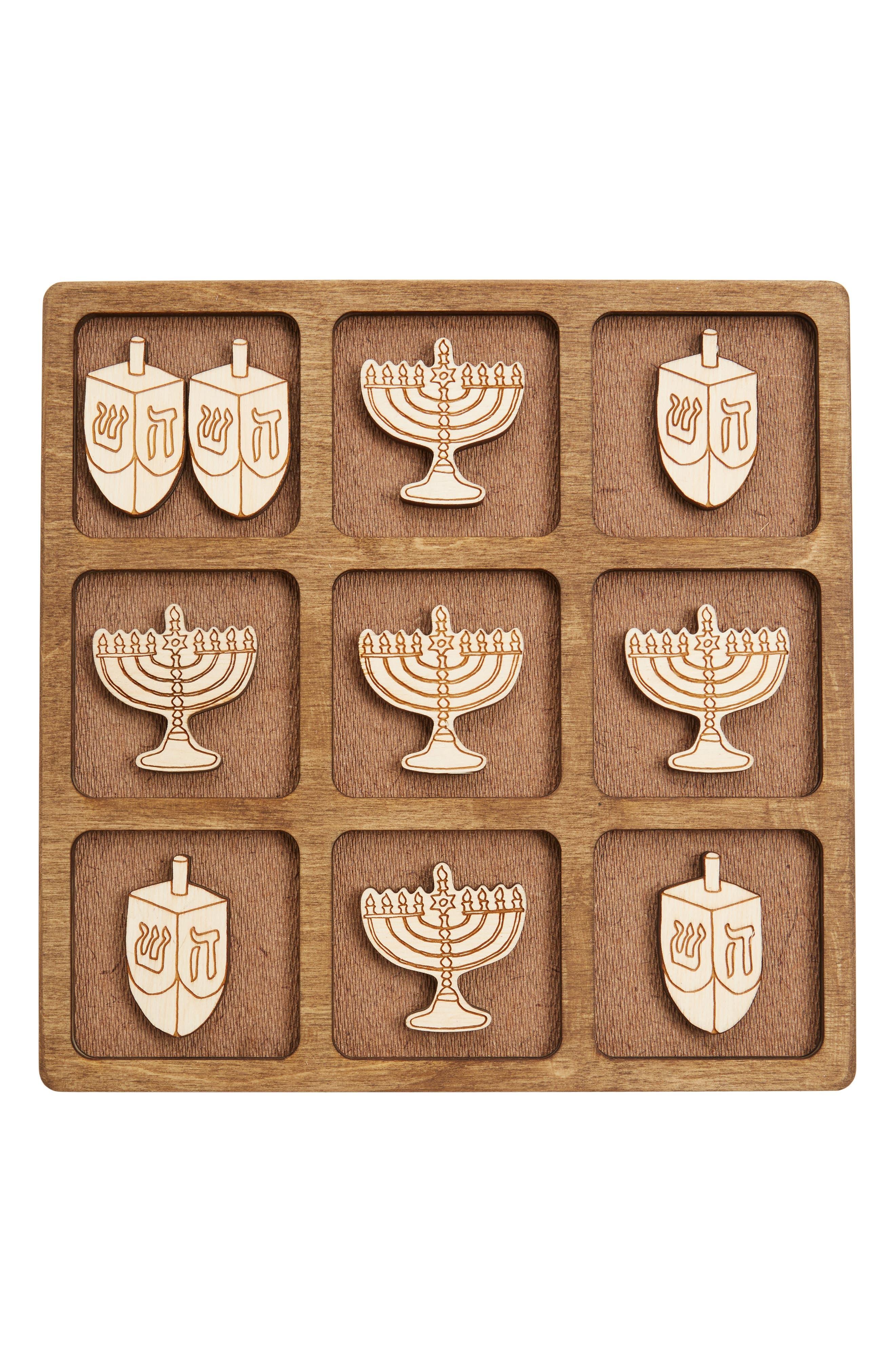 This & That Etc. Toys 11-Piece Hanukkah Tic-Tac-Toe Game