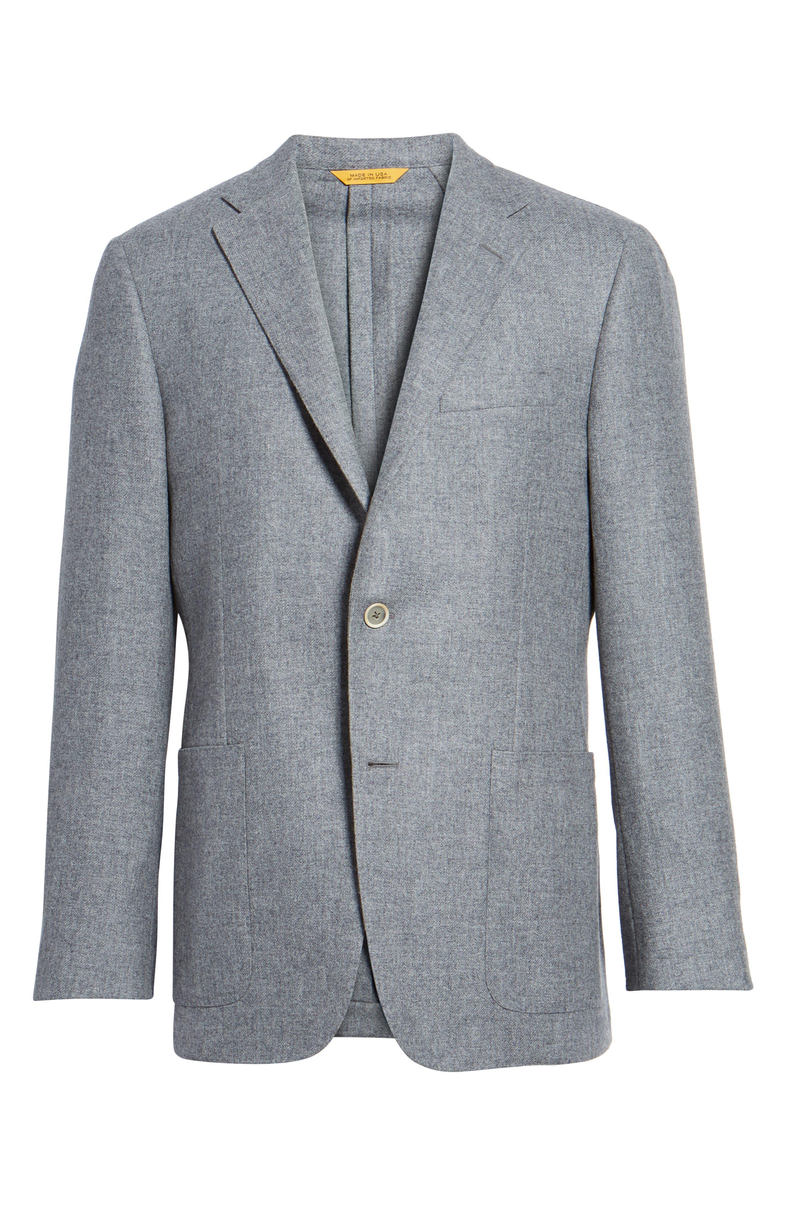 Alternate Image 6  - Hickey Freeman Classic B Fit Wool & Cashmere Blazer