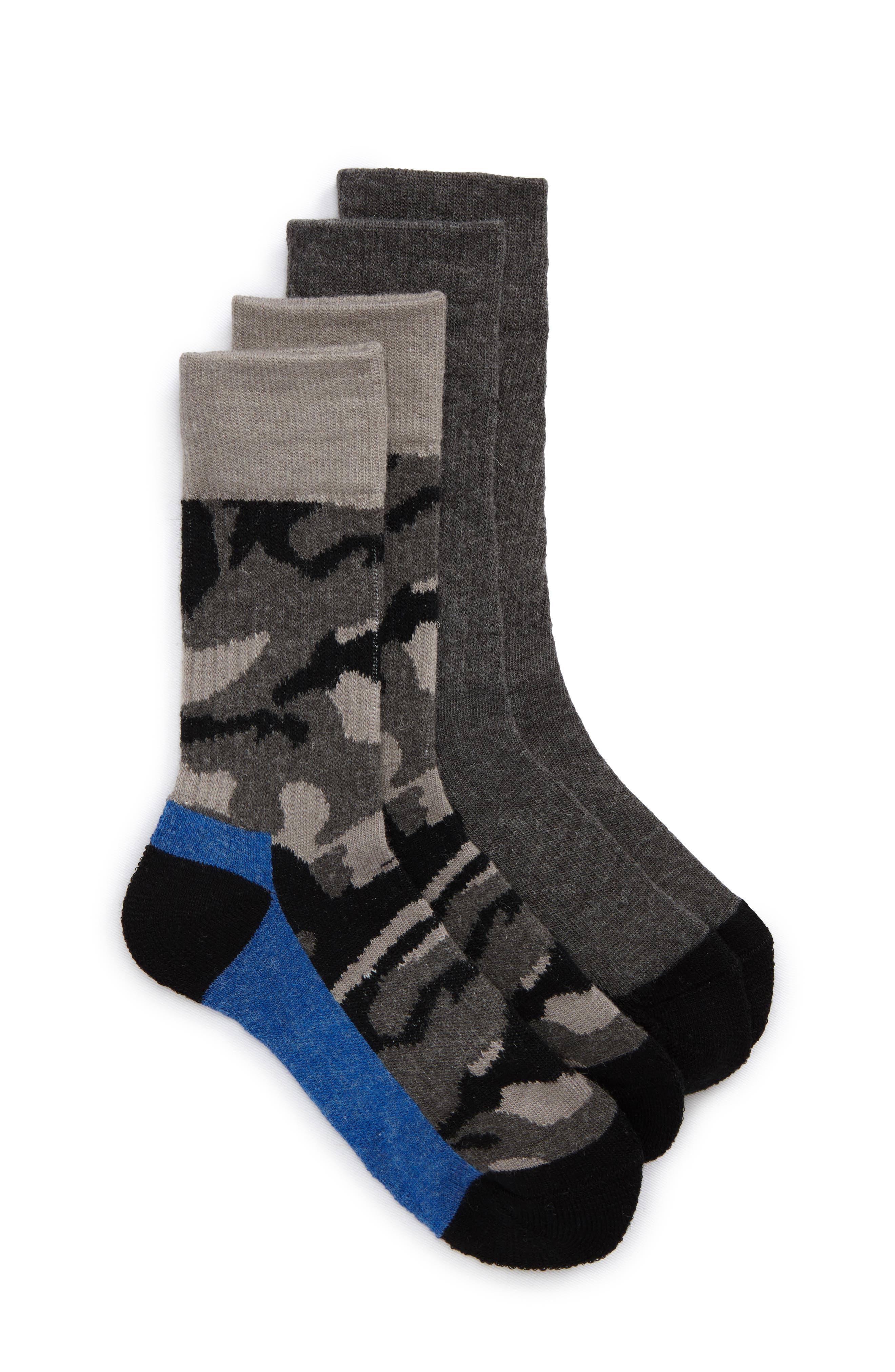 Tucker + Tate 2-Pack Assorted Crew Socks (Toddler, Little Kid & Big Kid)