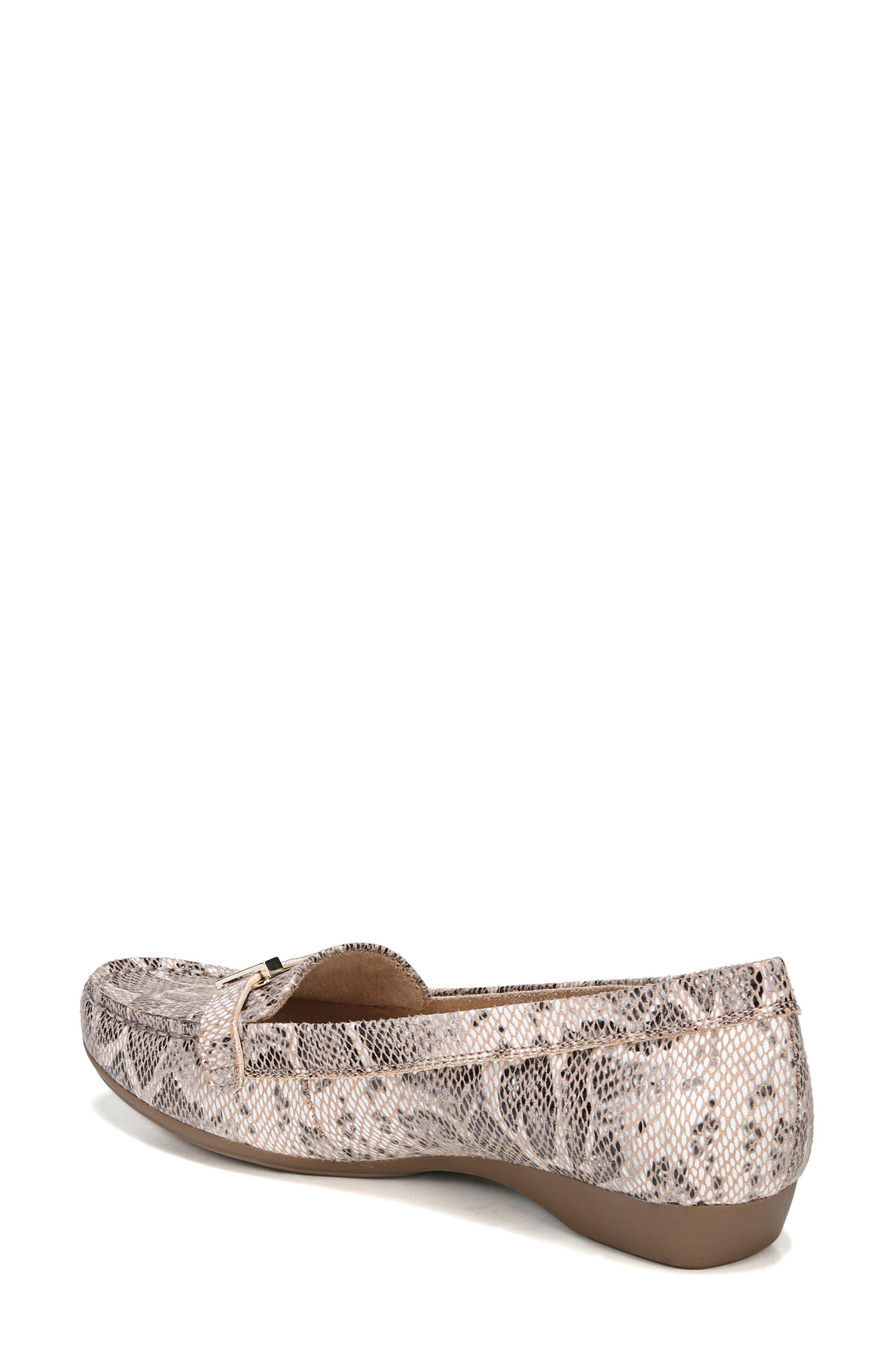 'Gisella' Loafer,                             Alternate thumbnail 2, color,                             Mauve Print Fabric