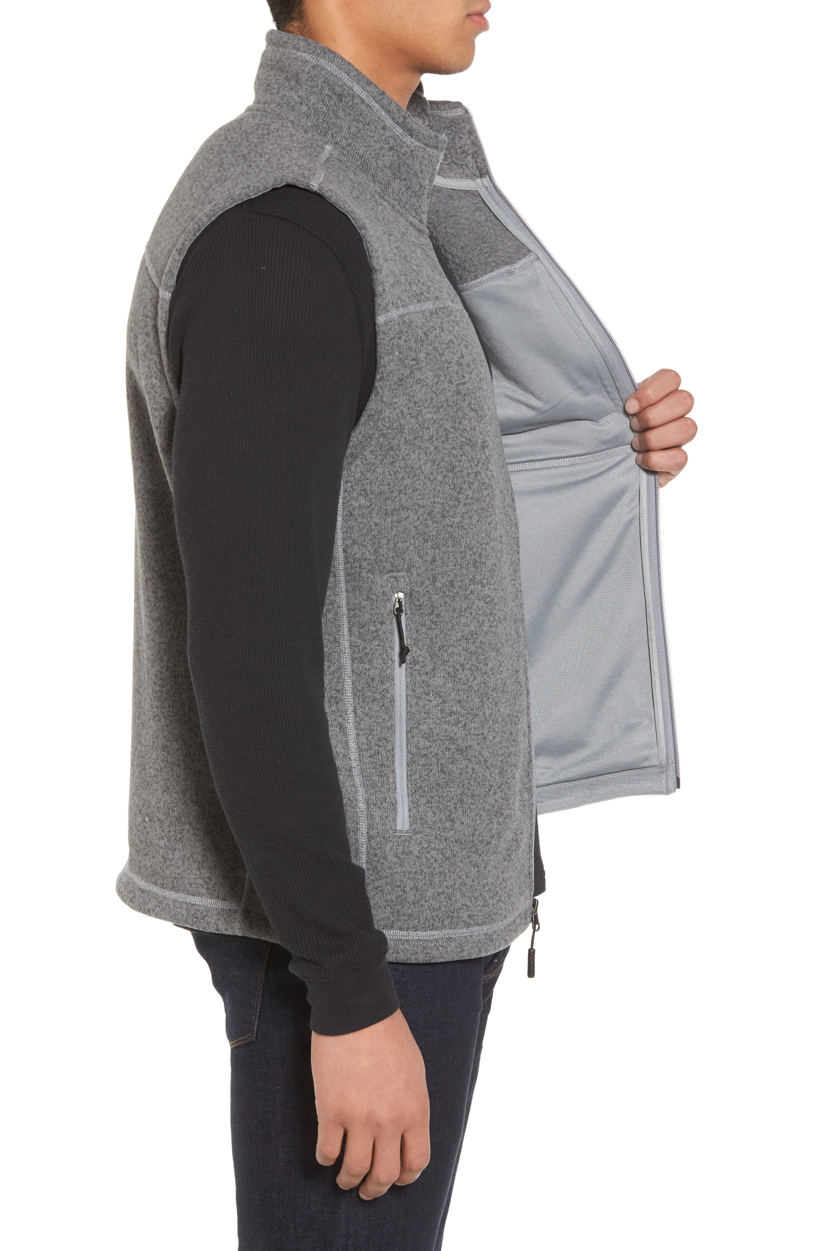 Alternate Image 3  - The North Face Gordon Lyons Zip Fleece Vest