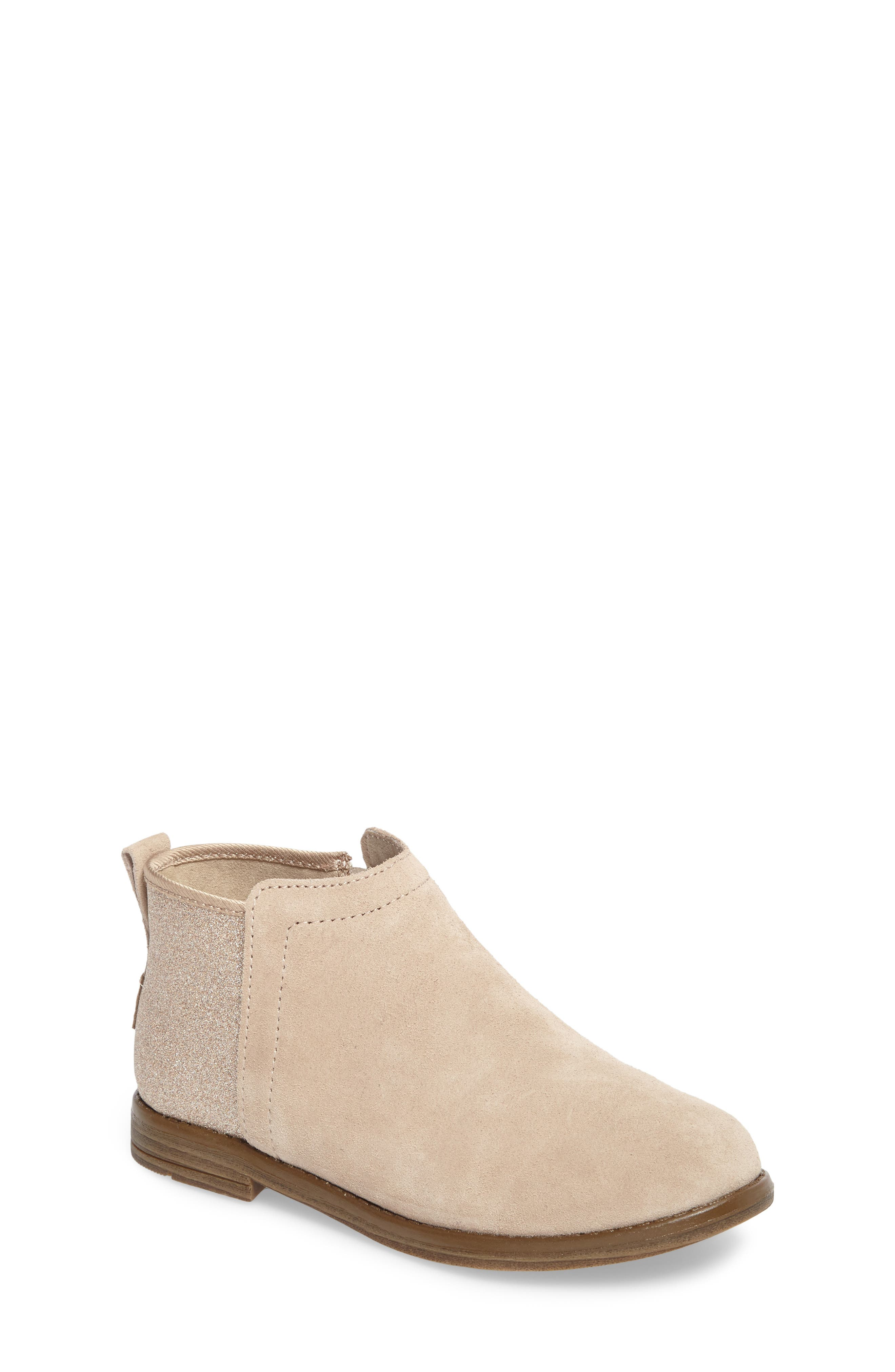 TOMS Deia Mixed Media Bootie (Toddler, Little Kid & Big Kid)