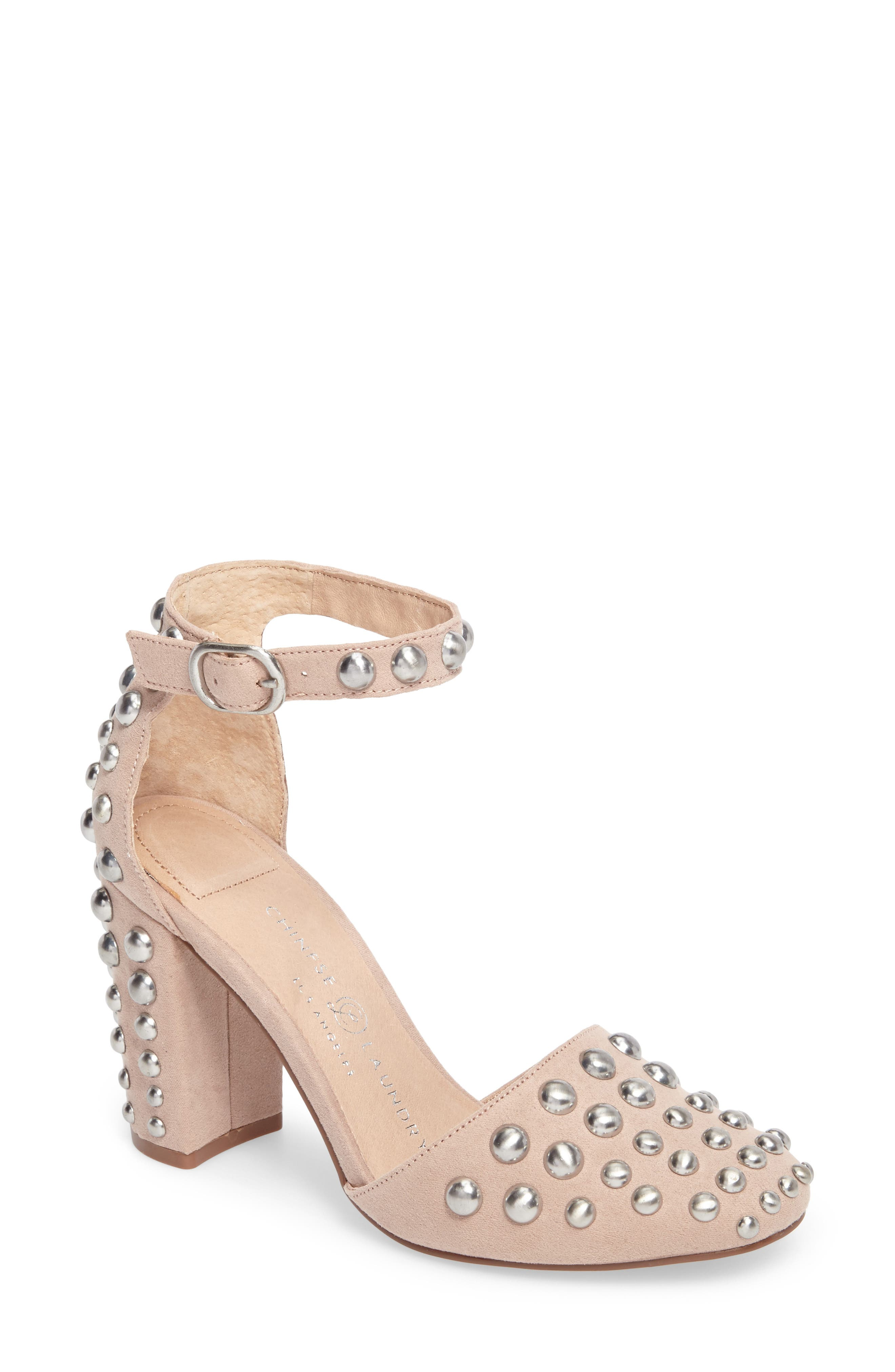 Alternate Image 1 Selected - Chinese Laundry Vegas Studded Pump (Women)