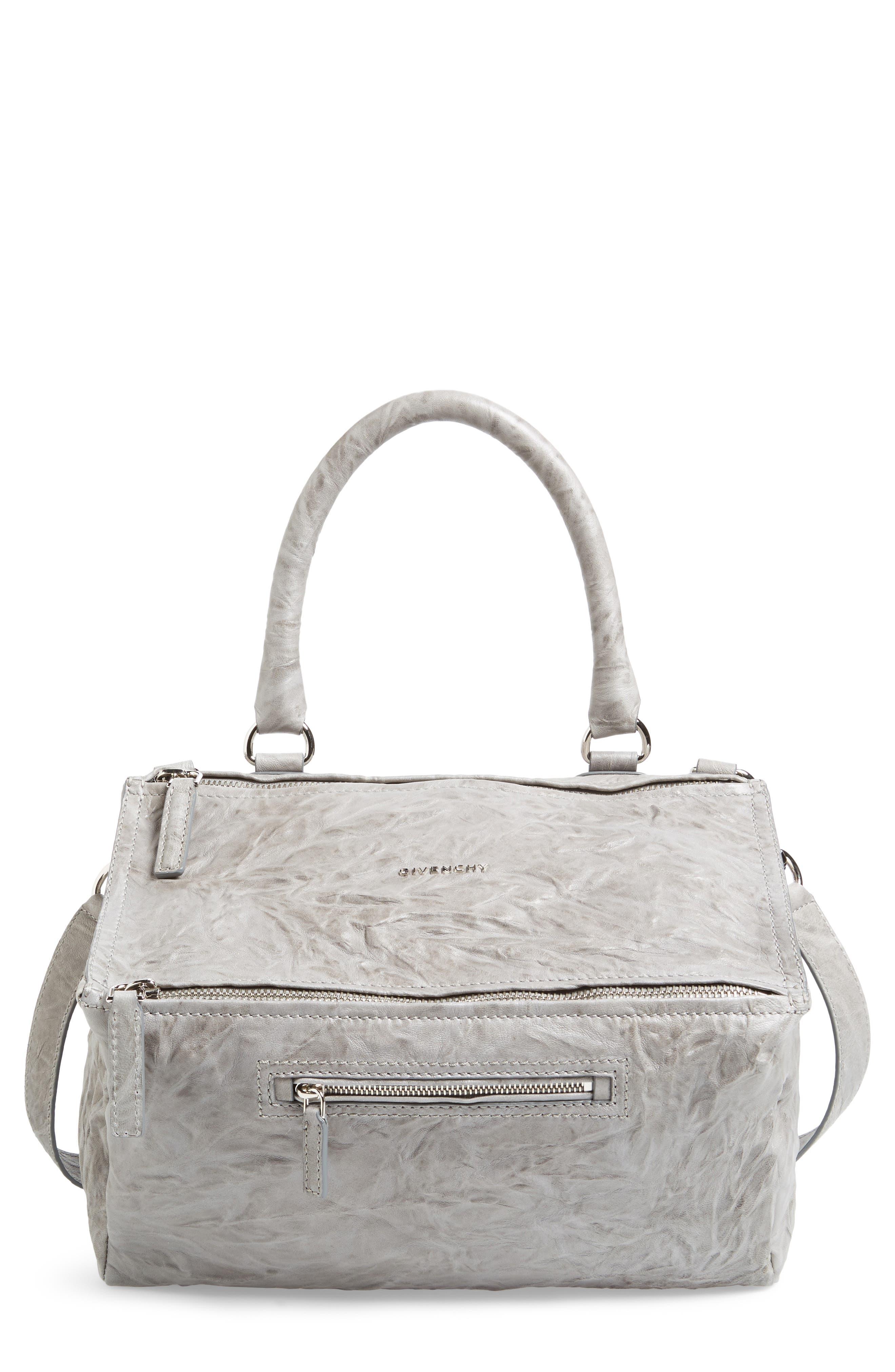 Alternate Image 1 Selected - Givenchy 'Medium Pepe Pandora' Leather Satchel