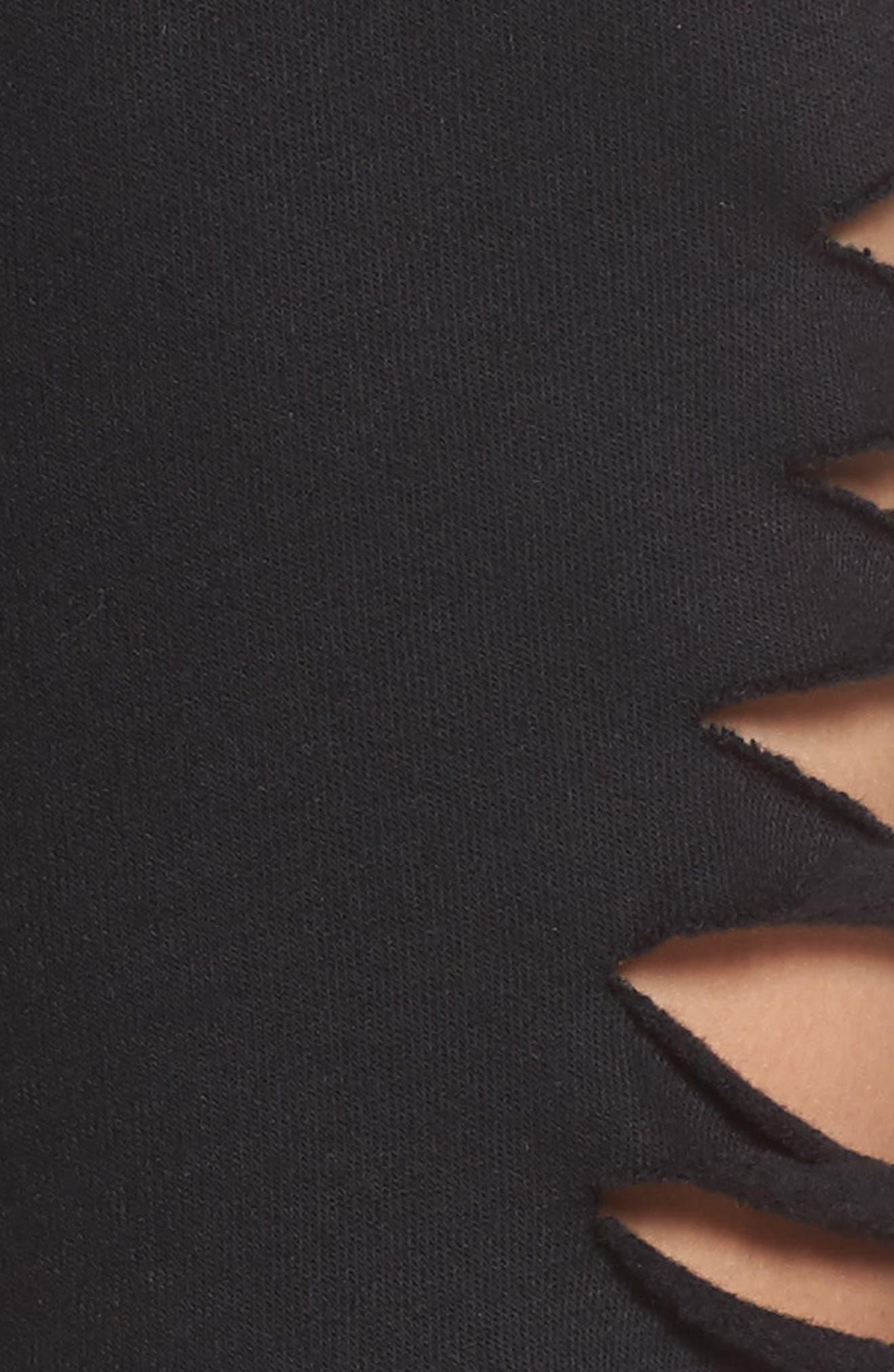 Slay Shorts,                             Alternate thumbnail 6, color,                             Black
