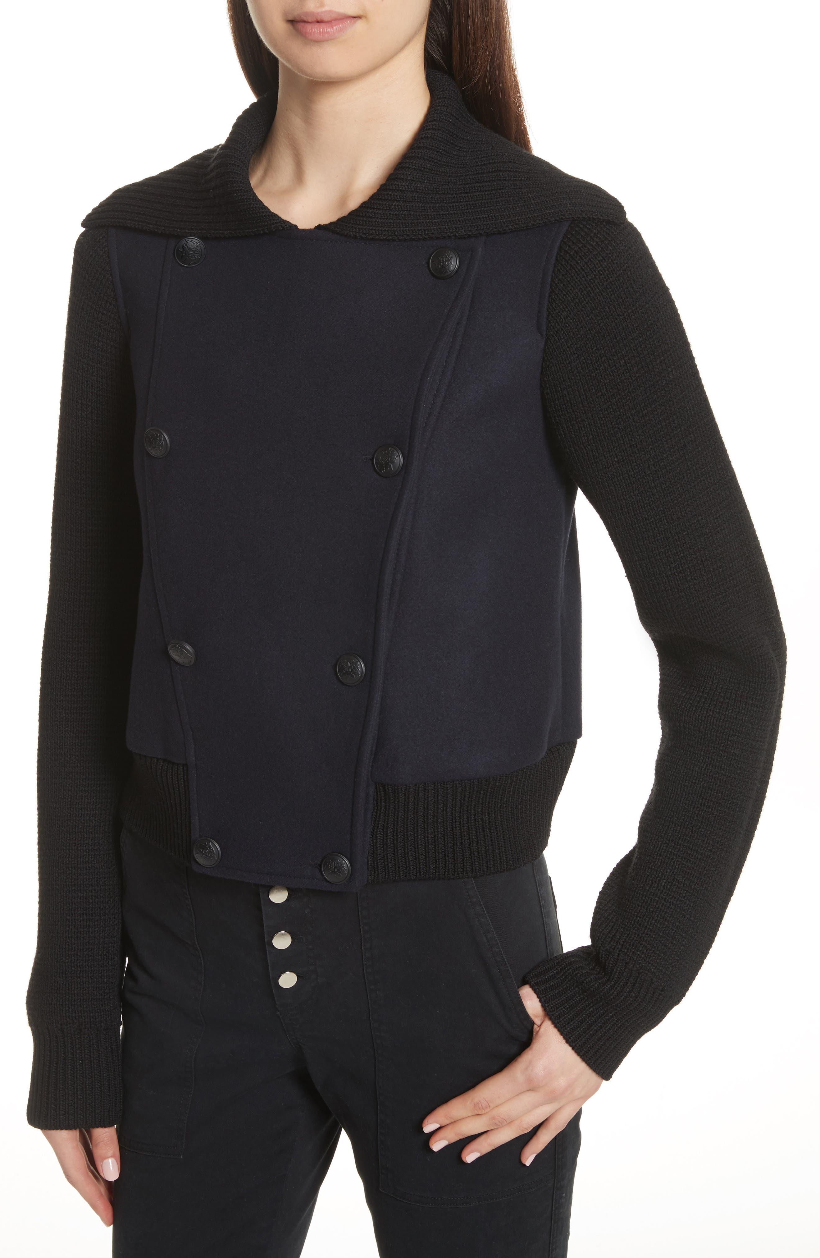 Alternate Image 4  - A.L.C. Bryant Merino Wool Blend Jacket