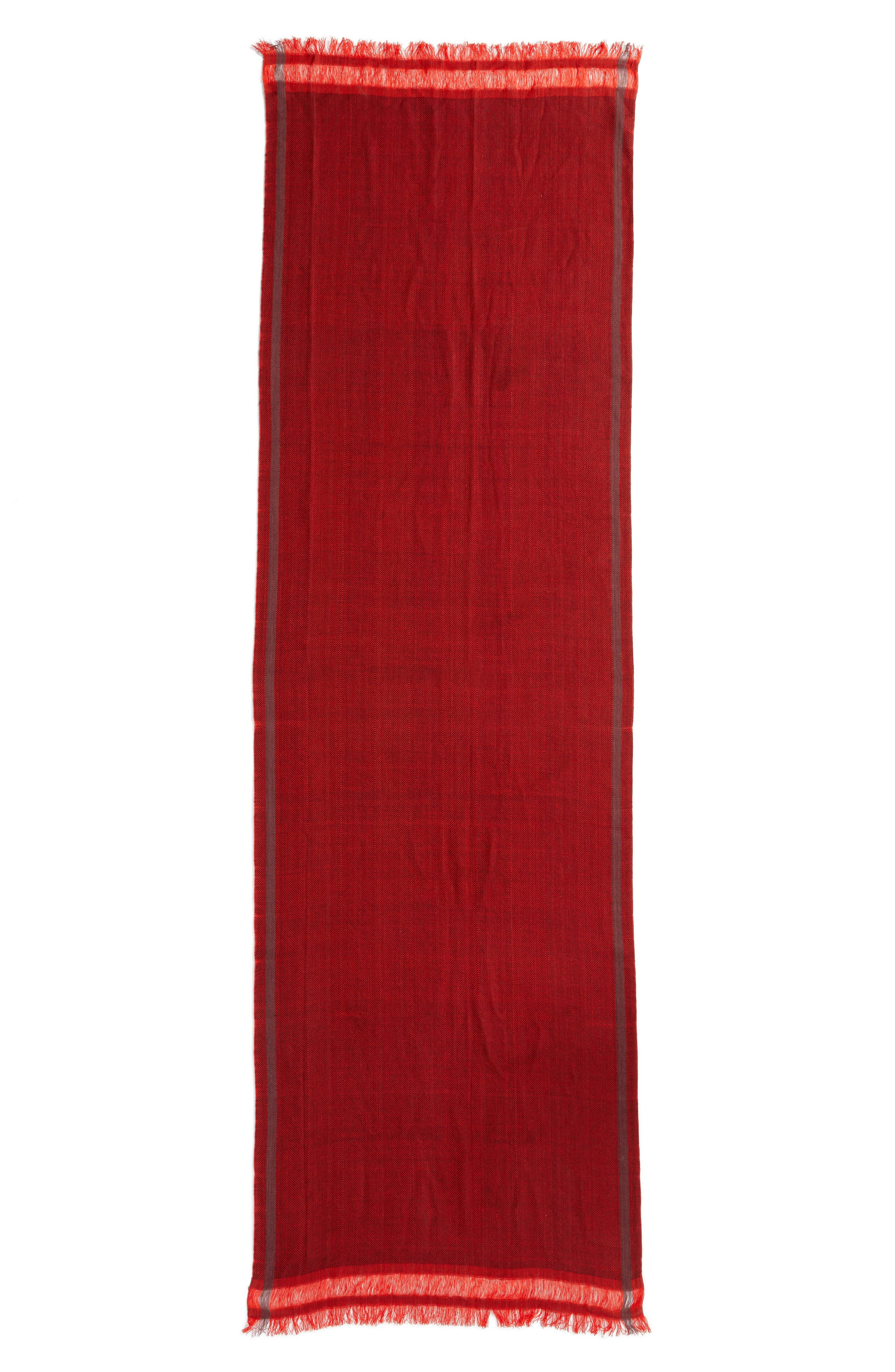 Alternate Image 3  - Eileen Fisher Woven Stripe Scarf