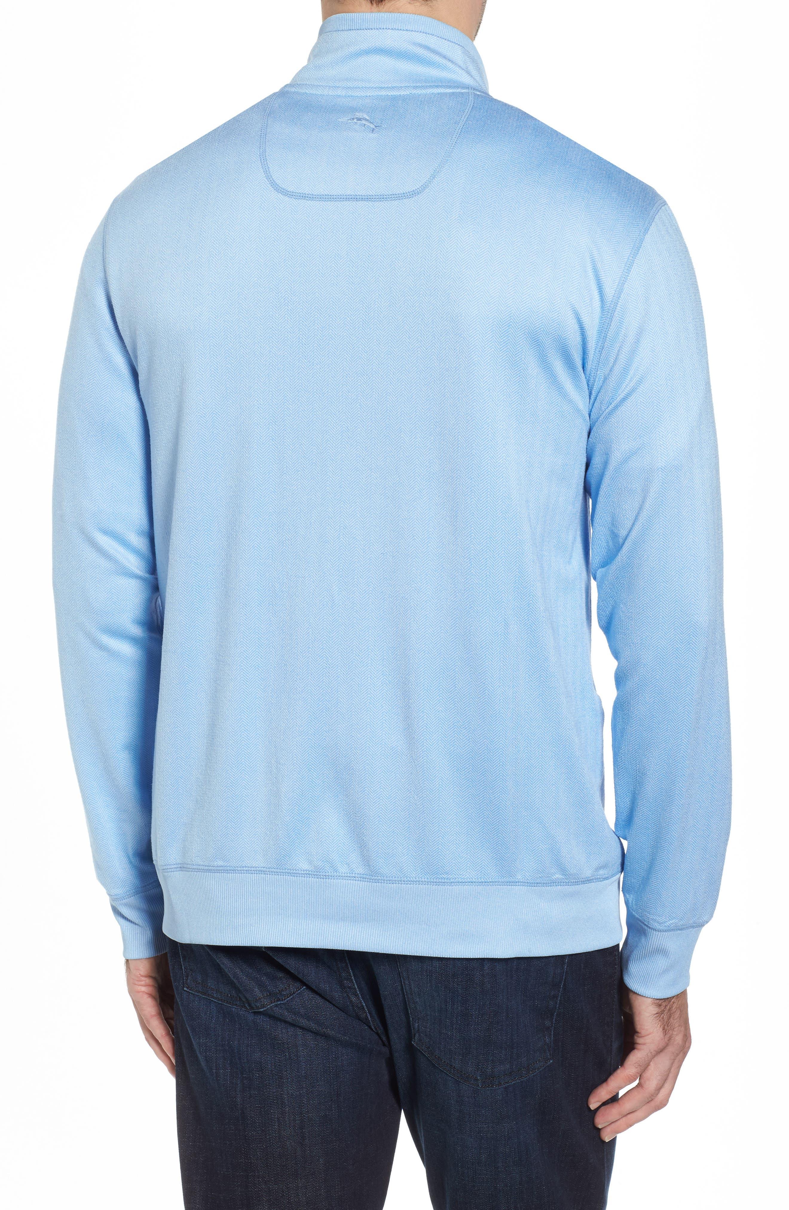 Alternate Image 2  - Tommy Bahama Pro Formance Quarter Zip Sweater