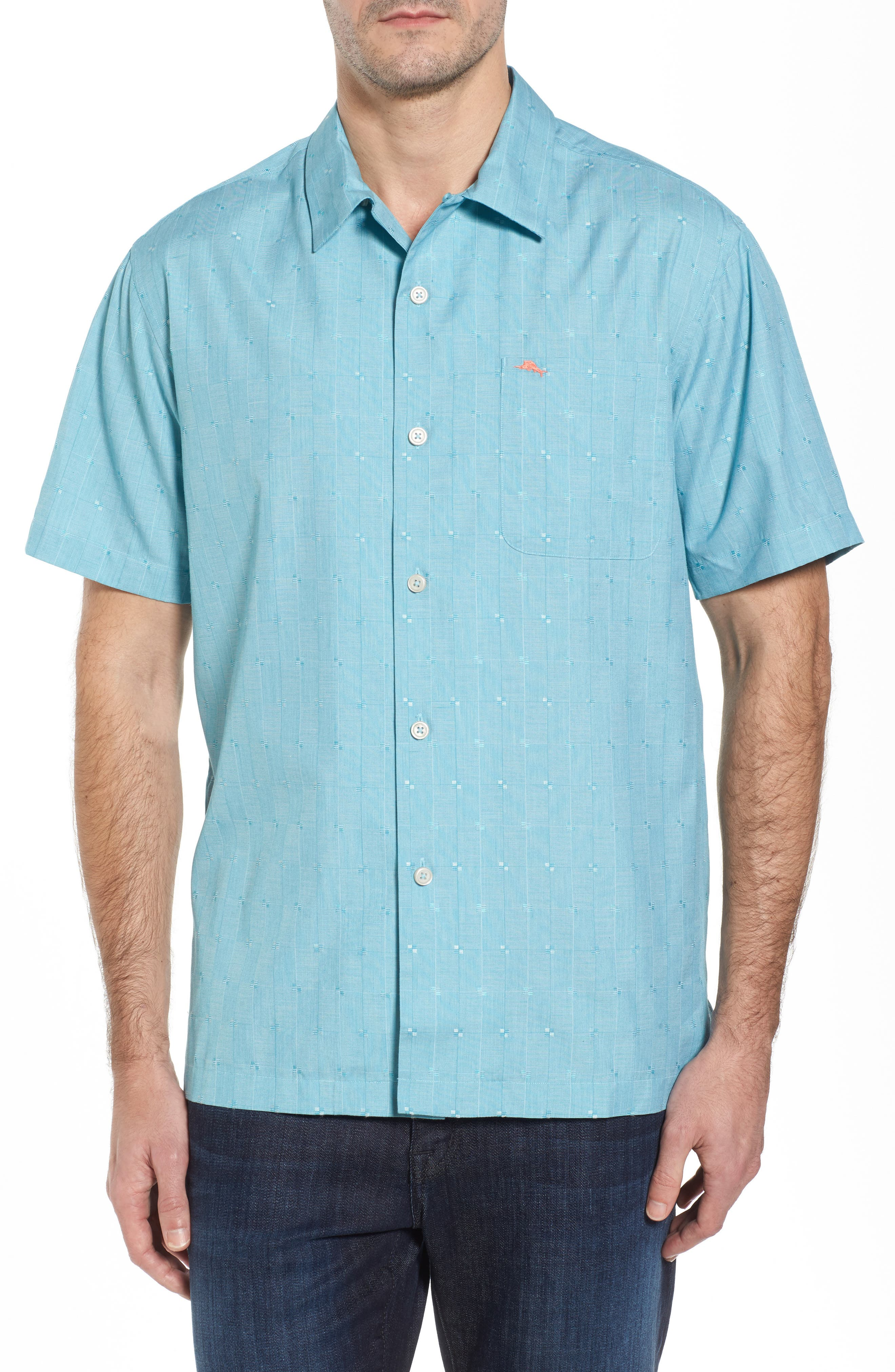 Alternate Image 1 Selected - Tommy Bahama Cypress Sands Camp Shirt