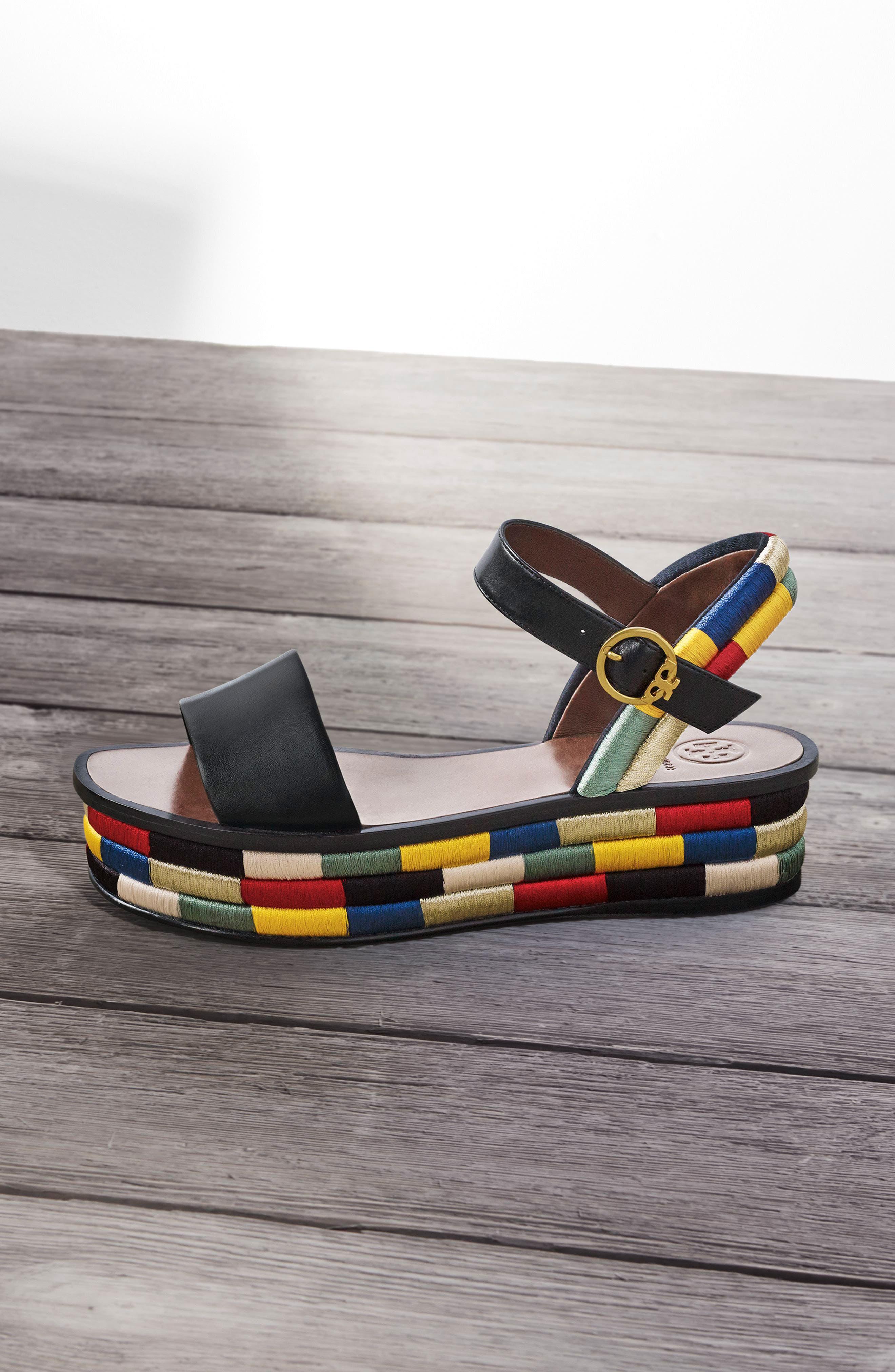 Camilla Platform Sandal,                             Alternate thumbnail 2, color,