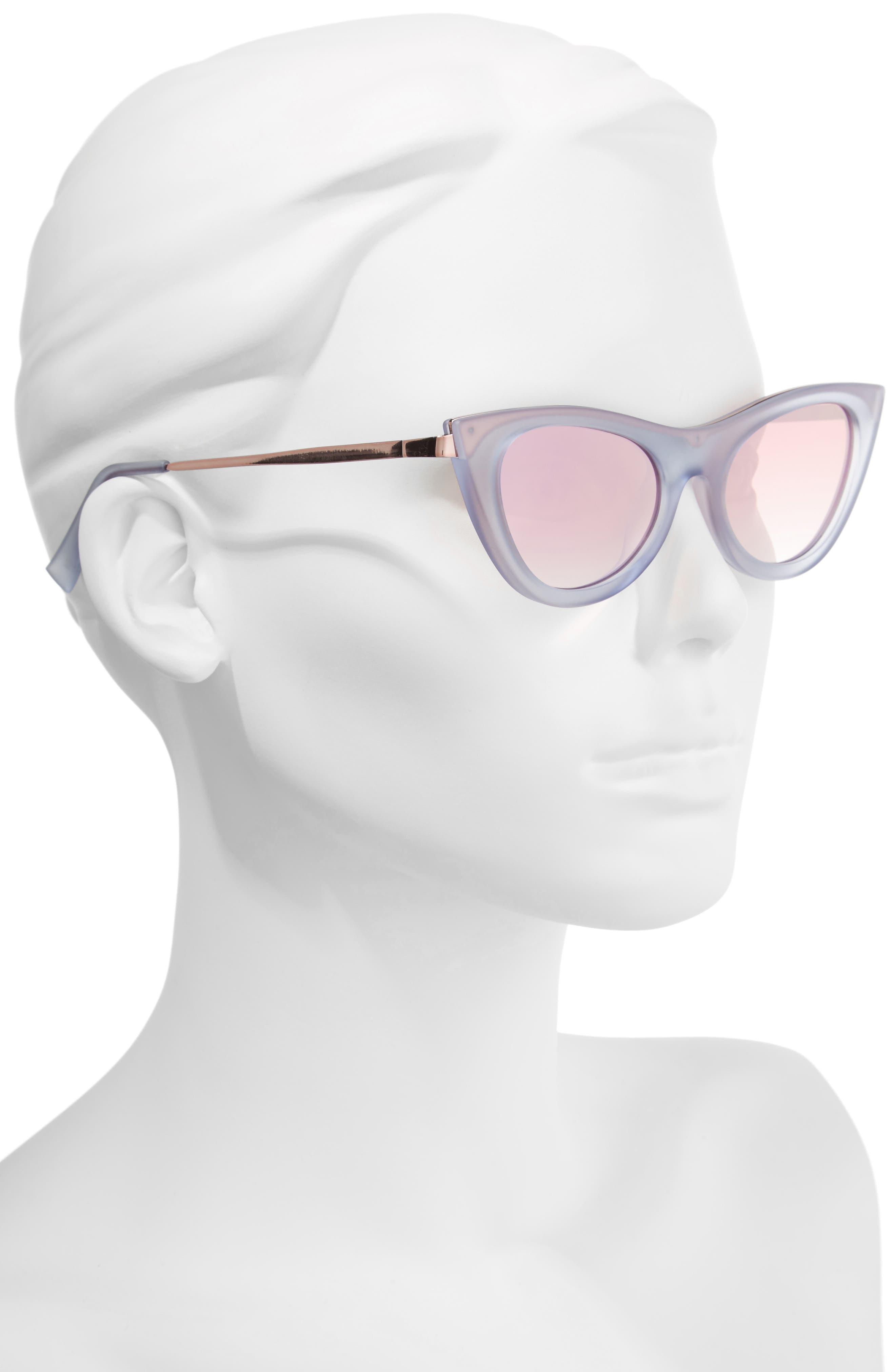 Alternate Image 2  - Le Specs Enchantress 49mm Retro Sunglasses