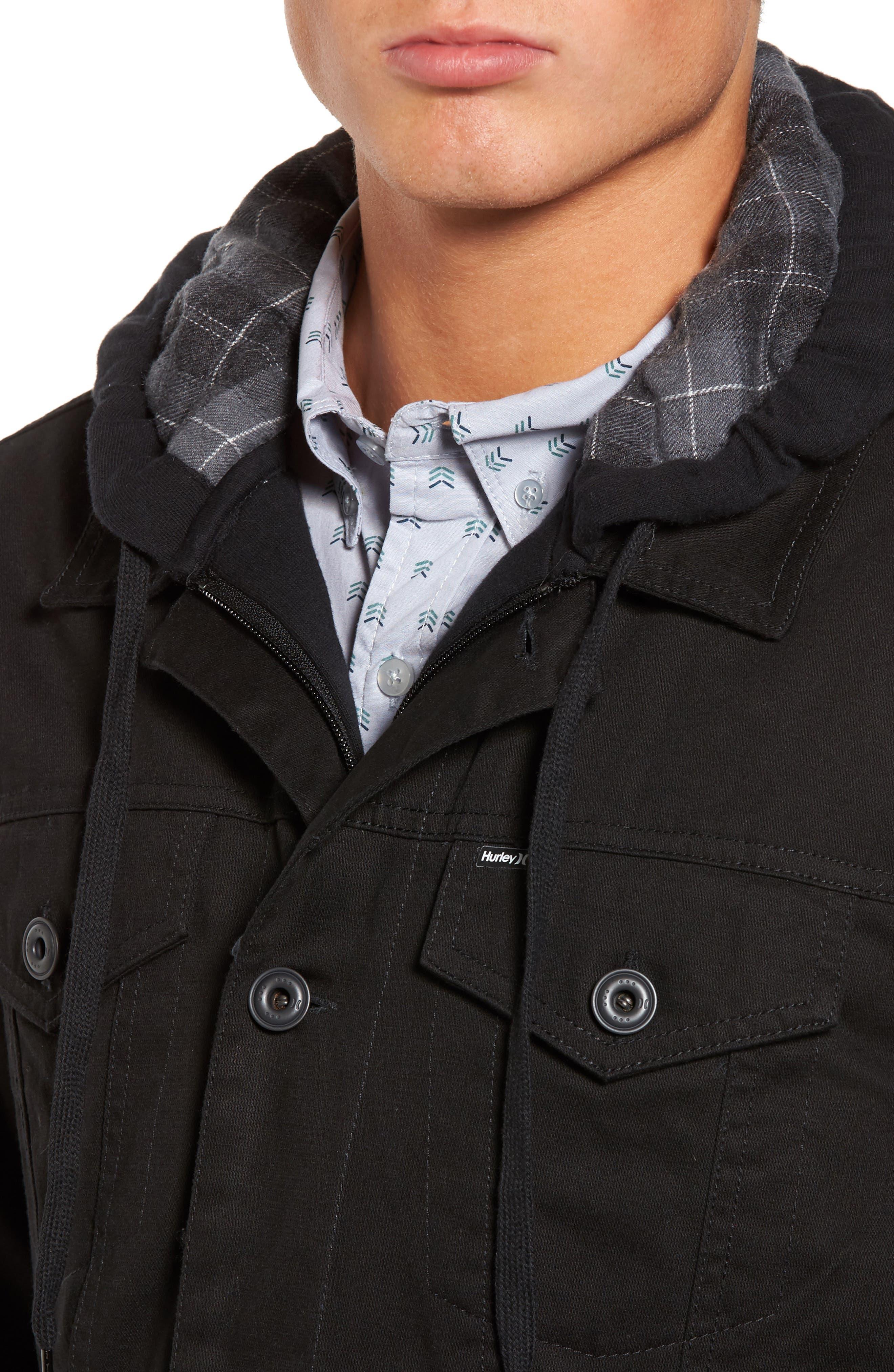 Alternate Image 4  - Hurley Mac Trucker 3.0 Hooded Jacket